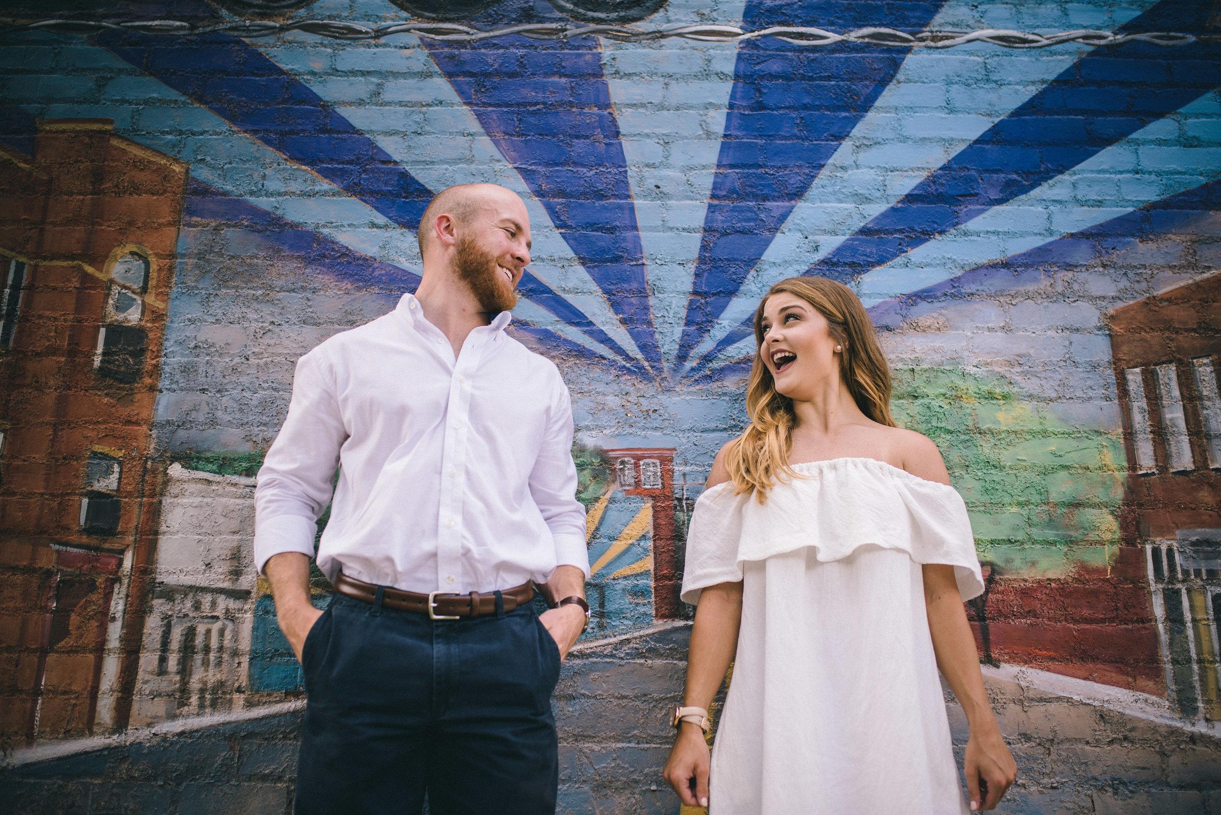 Charlotte Wedding Photography - NoDa Engagement - North Carolina Wedding Photography