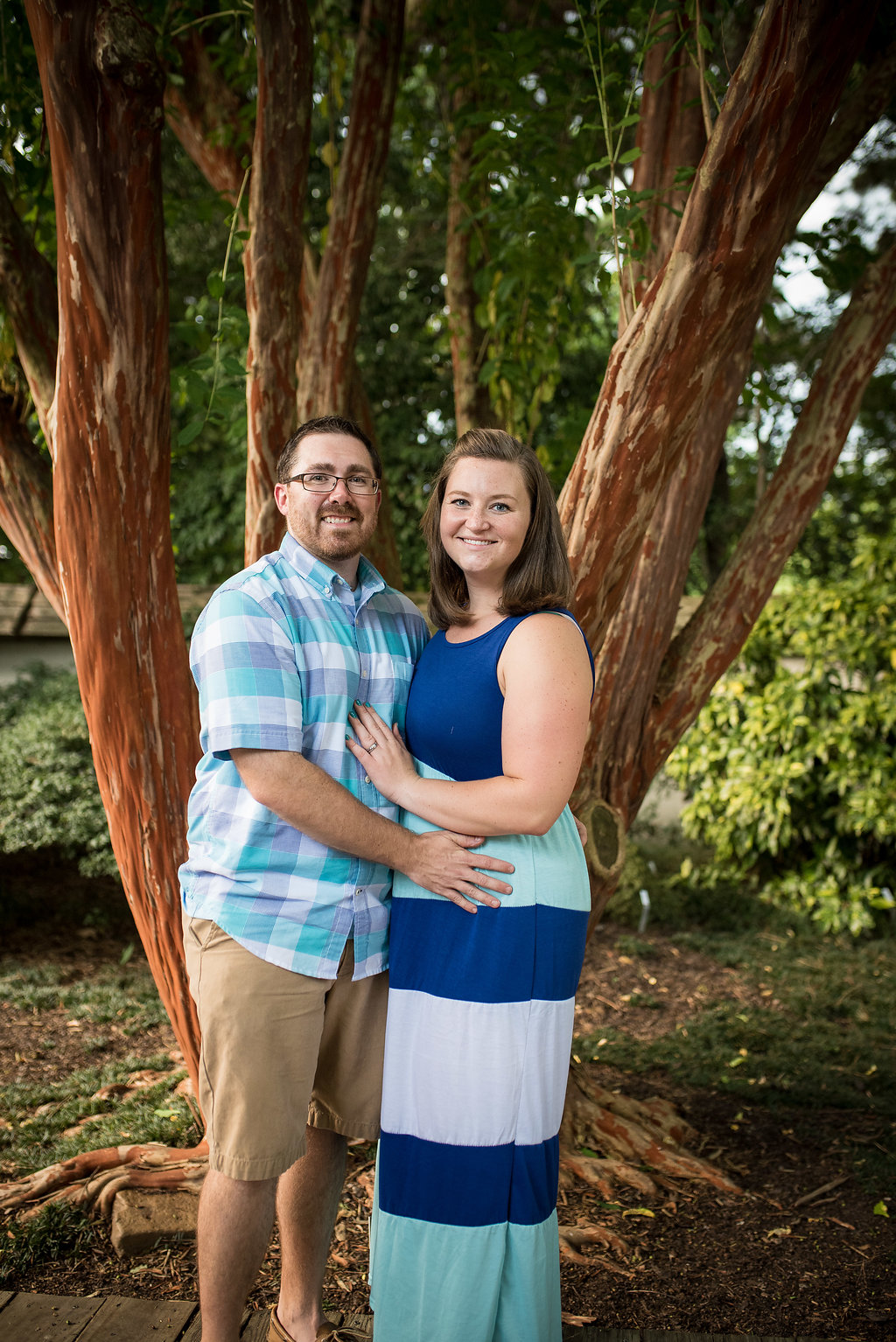 Baby Announcement - Big Sister - Raleigh Family Photography