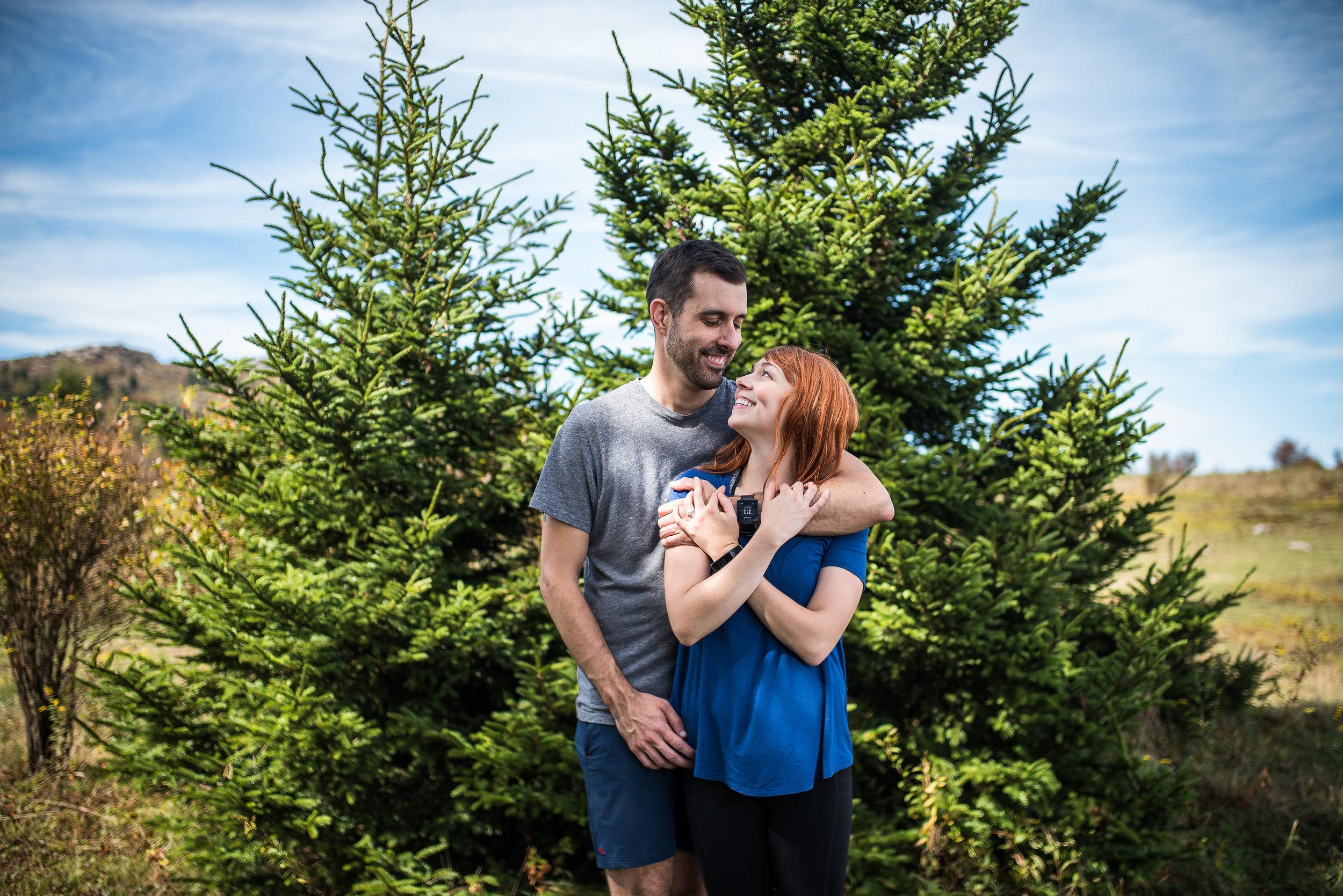 Grayson Highlands Engagement - North Carolina Wedding Photographer - Destination Wedding Photographer