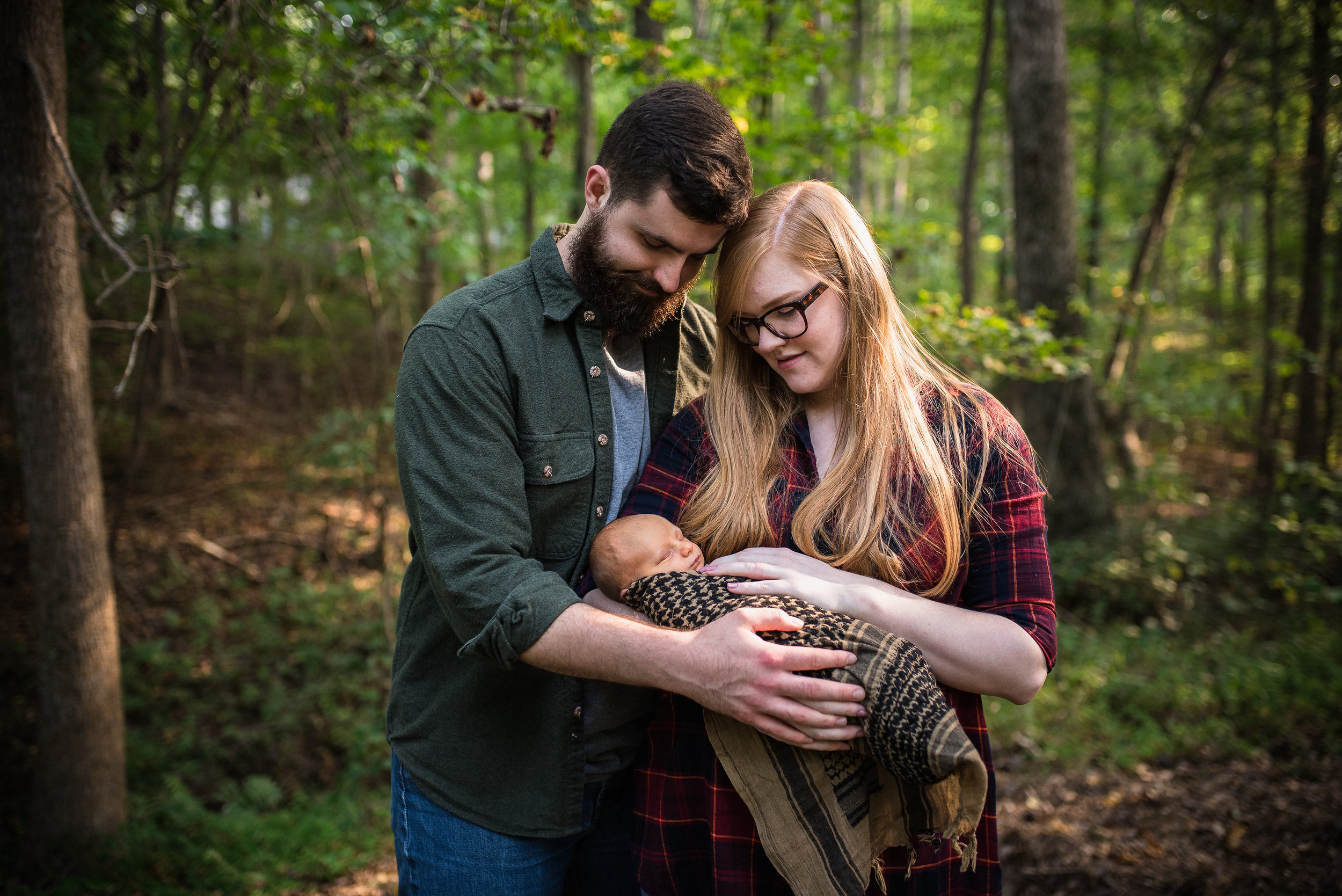 Raleigh Family Photographer - Newborn Lifestyle Session