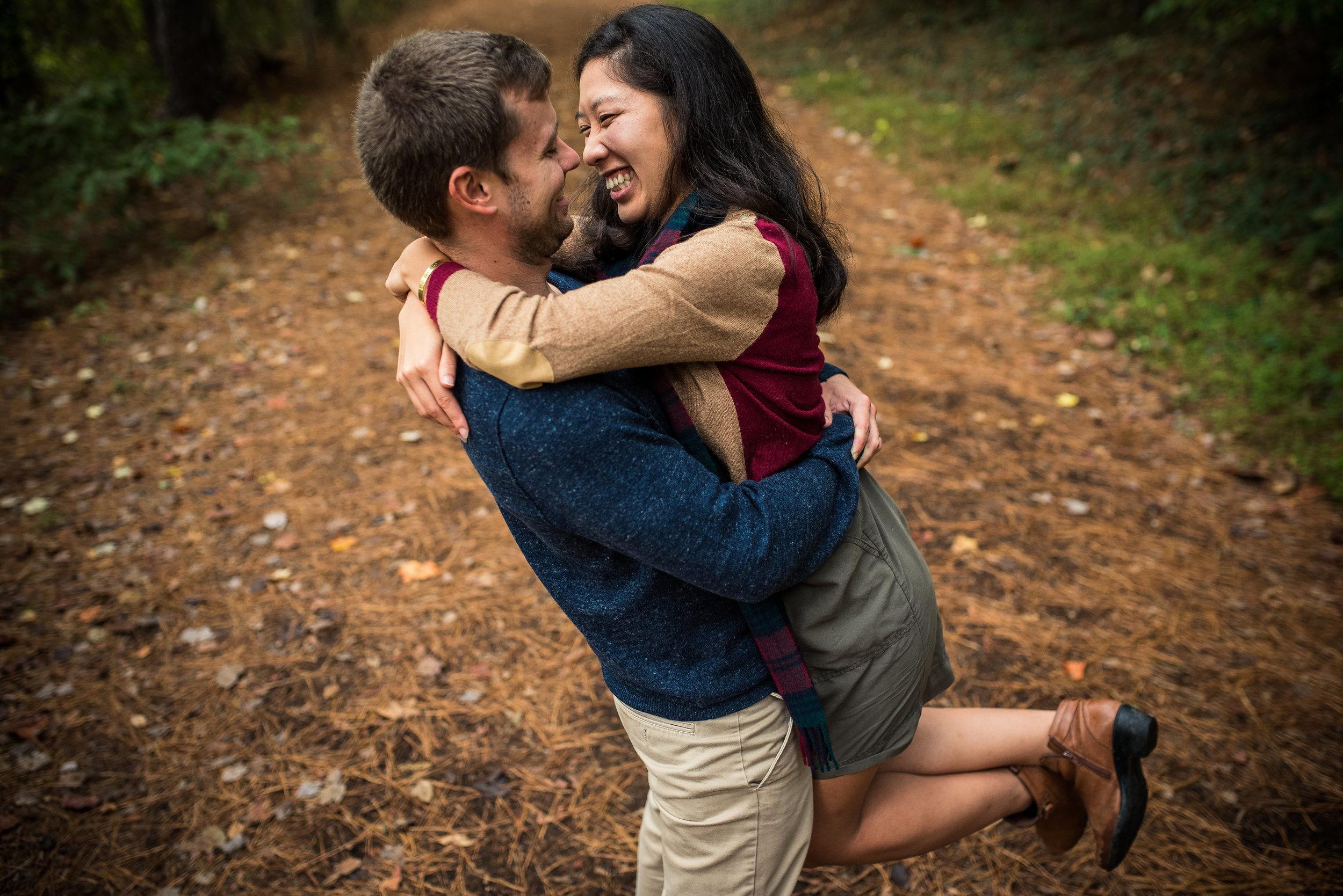North Carolina Wedding Photographer - Adventure Engagement Session