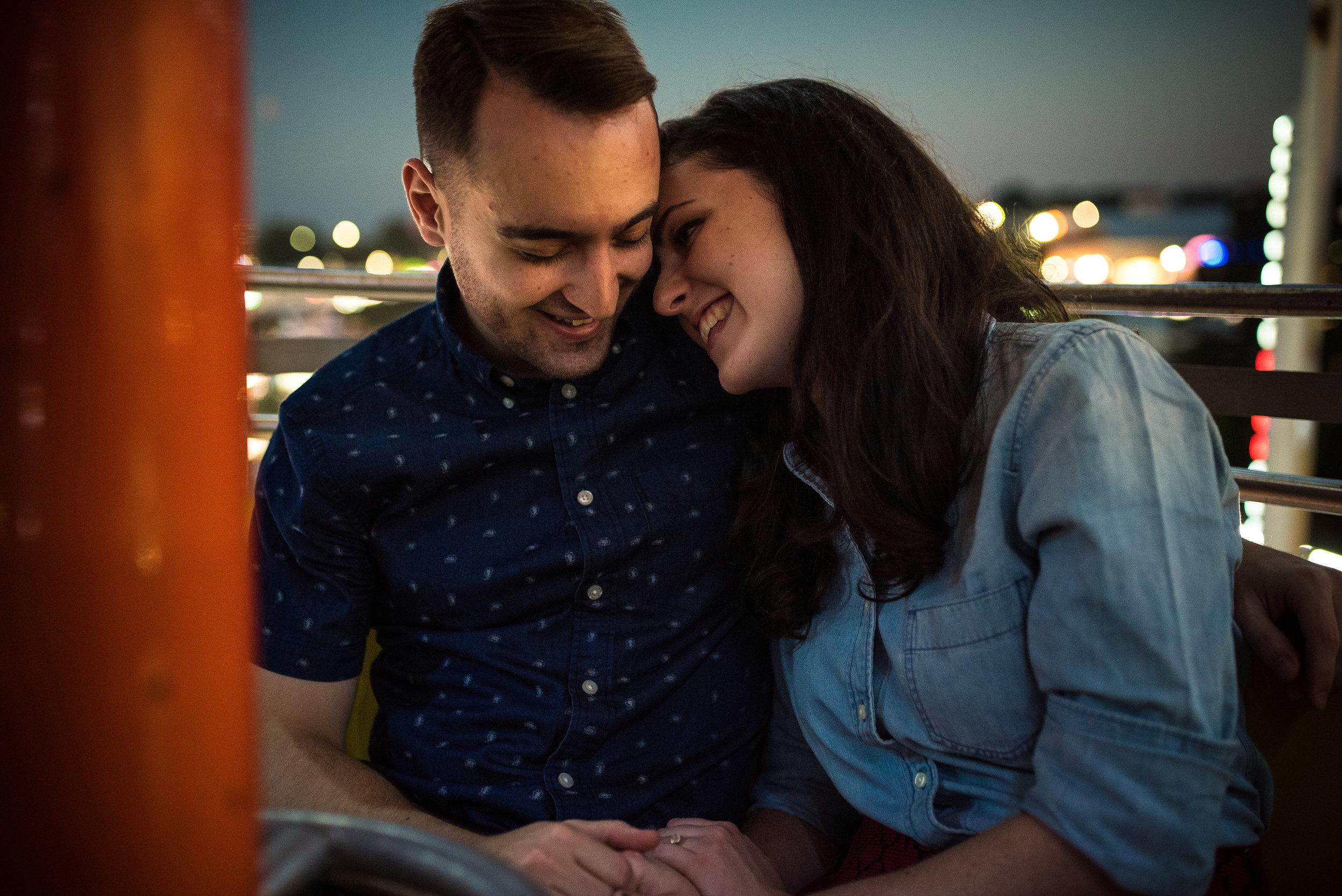 NC State Fair Engagement - North Carolina Wedding Photographer