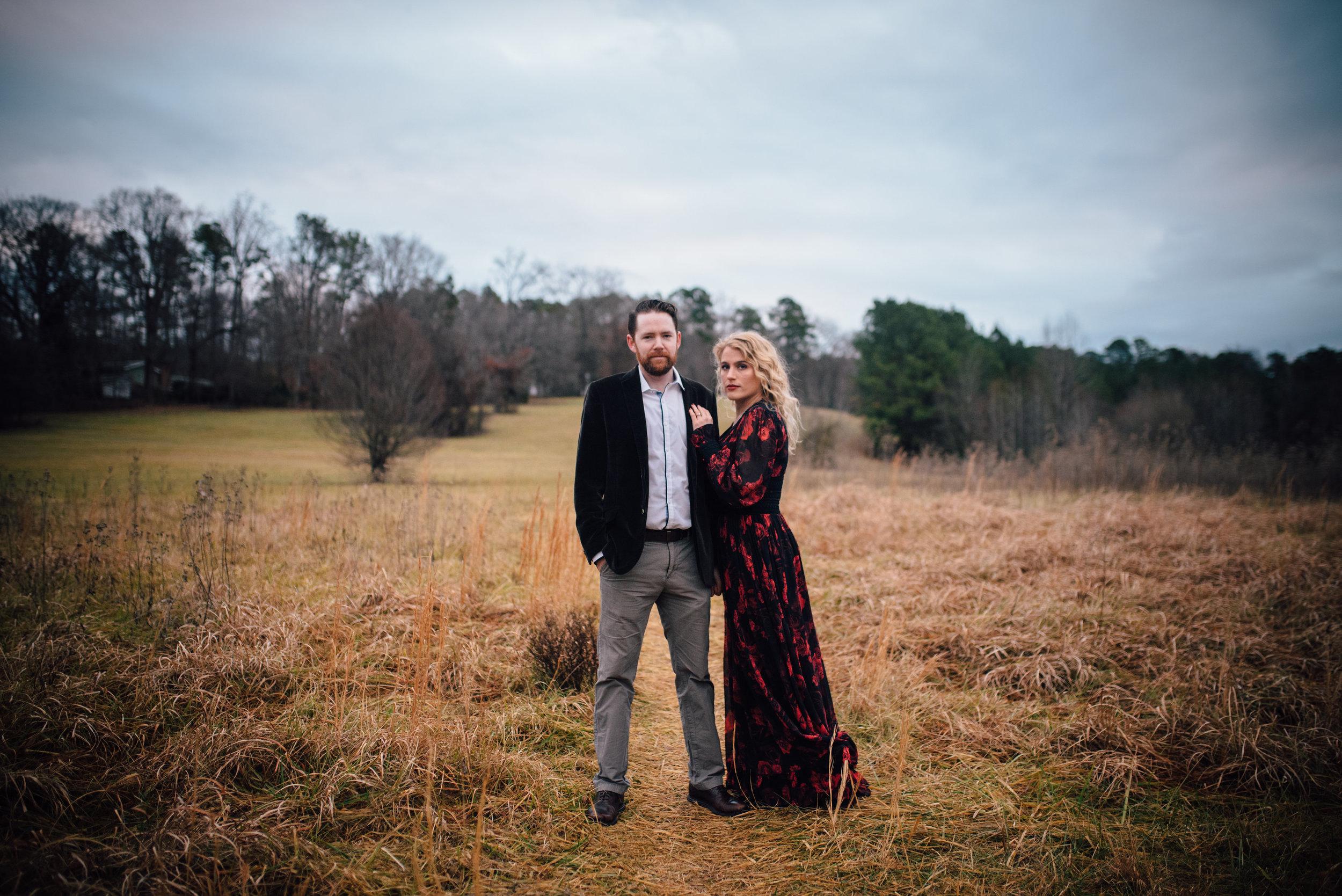 chapel hill wedding photographer - merritt's pasture engagement - north carolina wedding photographer
