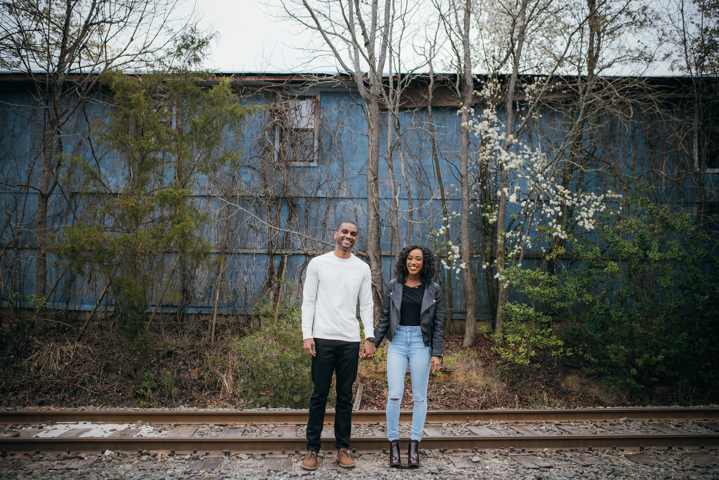 carrboro engagement session - chapel hill wedding photographer - north carolina wedding photographer