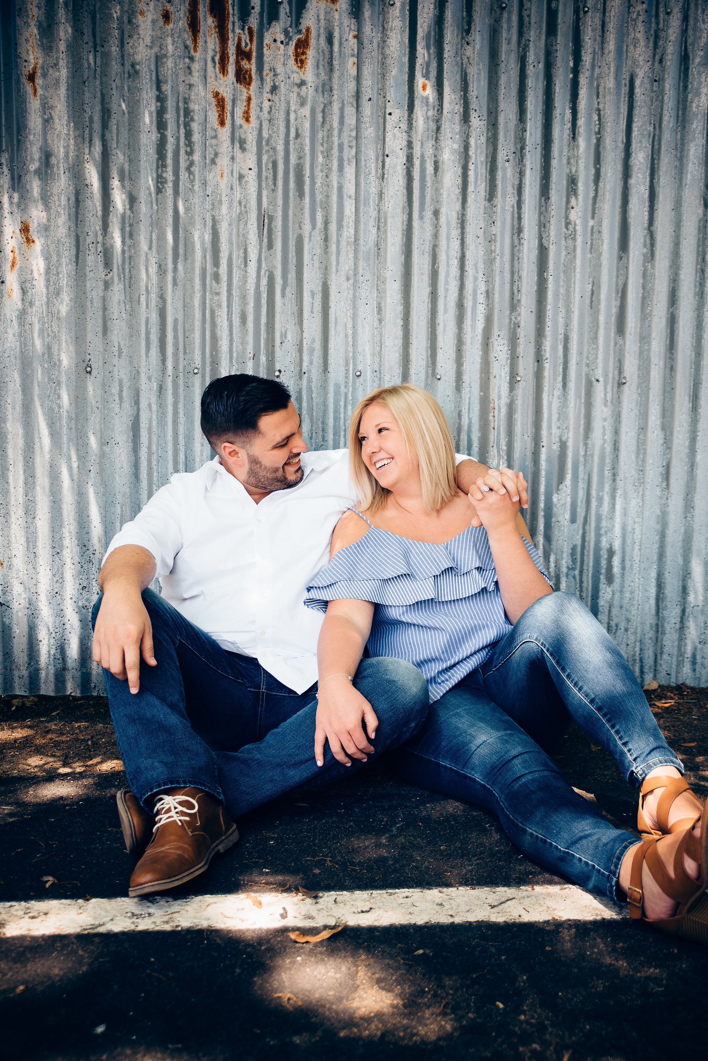 downtown raleigh engagement - north carolina wedding photographer -