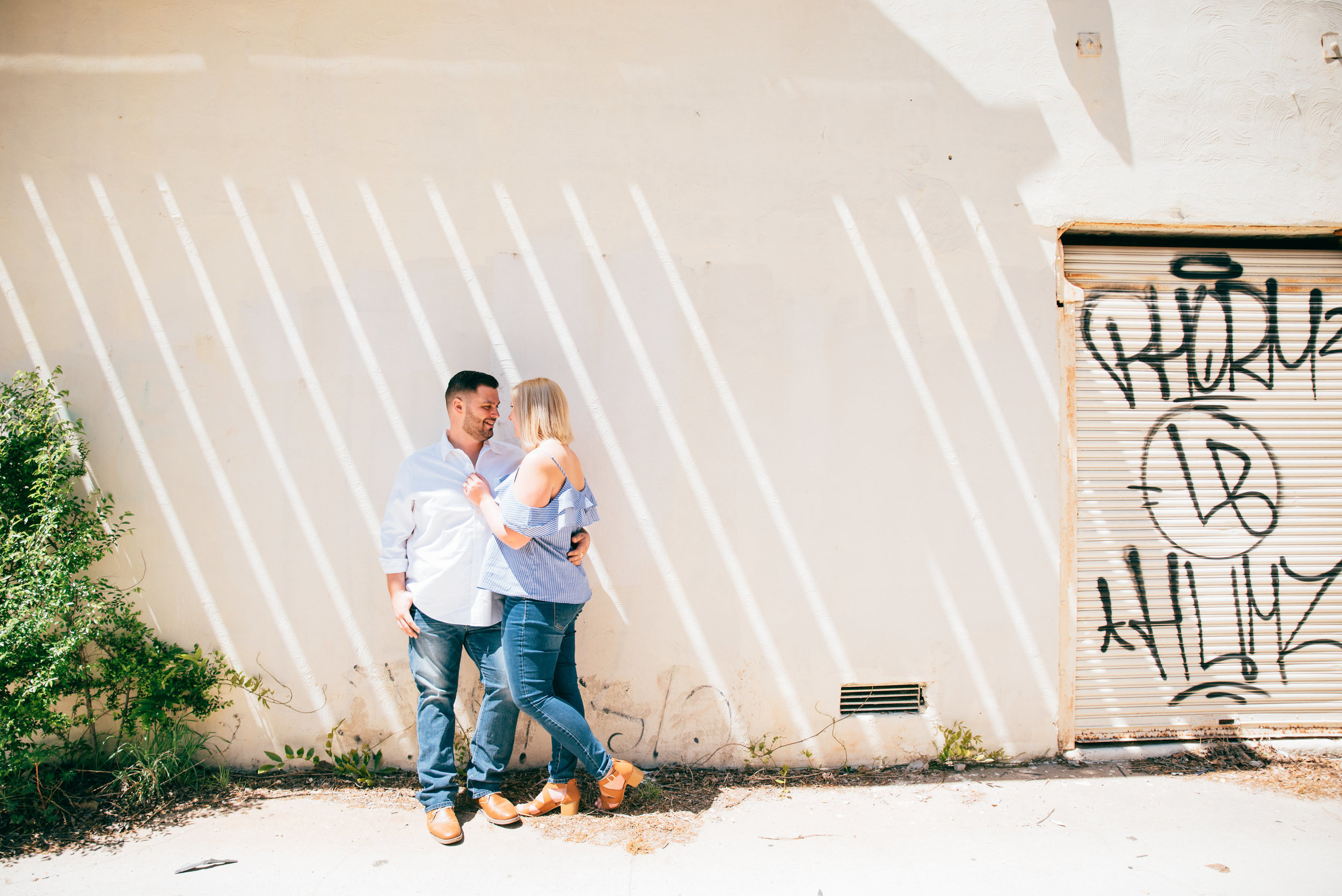 downtown raleigh engagement - north carolina wedding photographer - raleigh wedding photographer