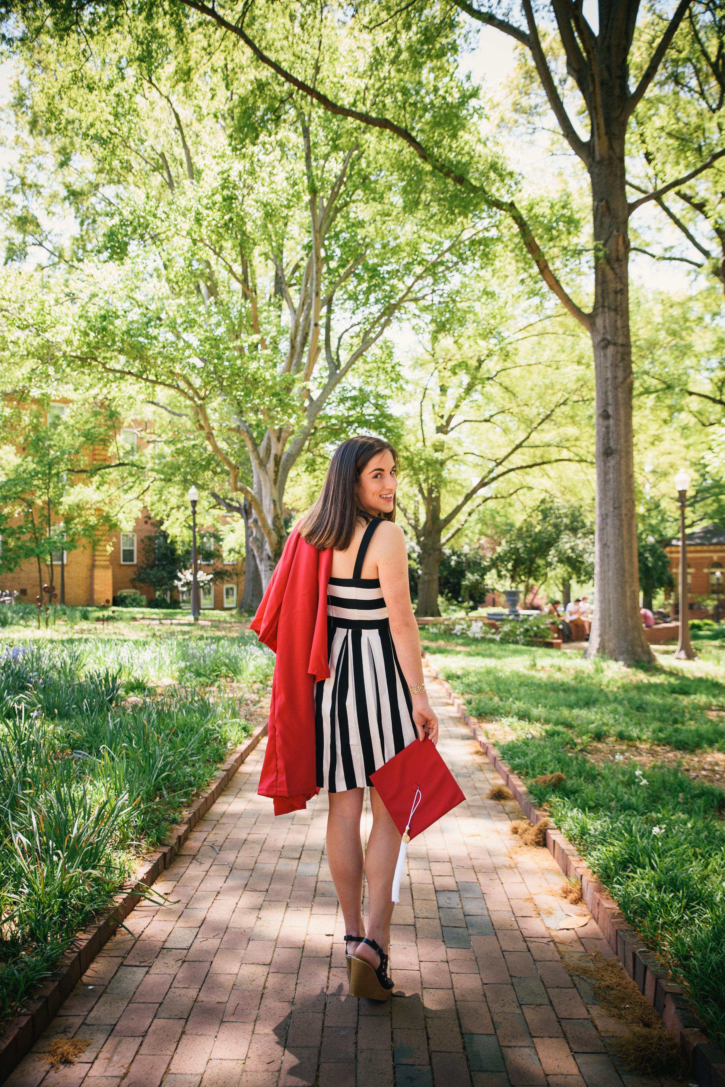 NC State Graduation Photos - Raleigh Family Photographer