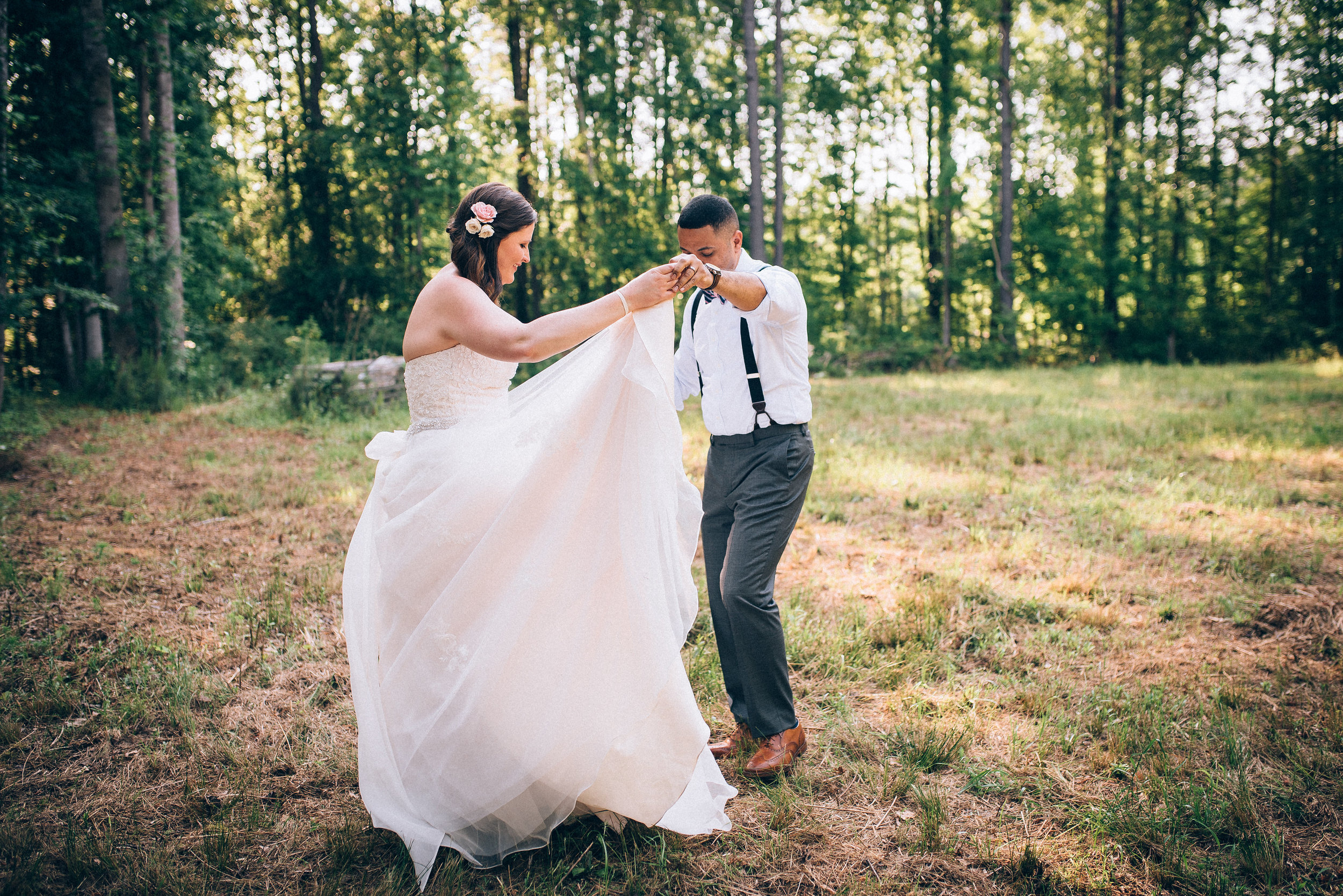 raleigh wedding photographer - the bradford wedding - north carolina wedding photographer