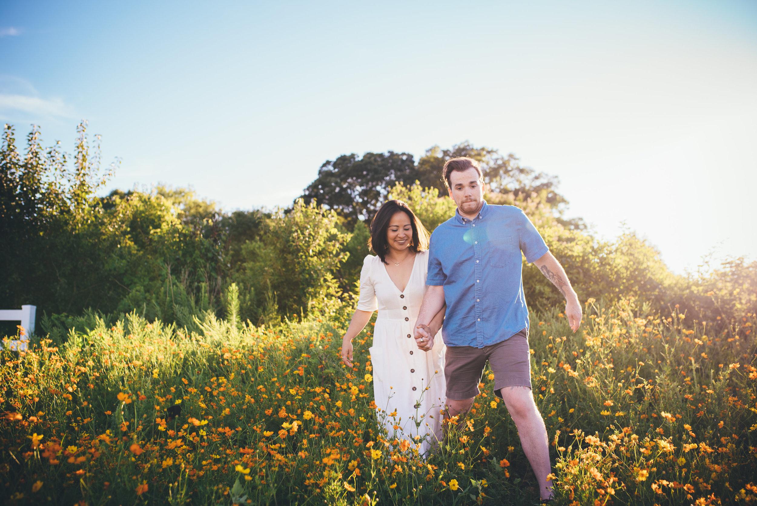dorothea dix park - raleigh couple photographer - north carolina wedding photographer