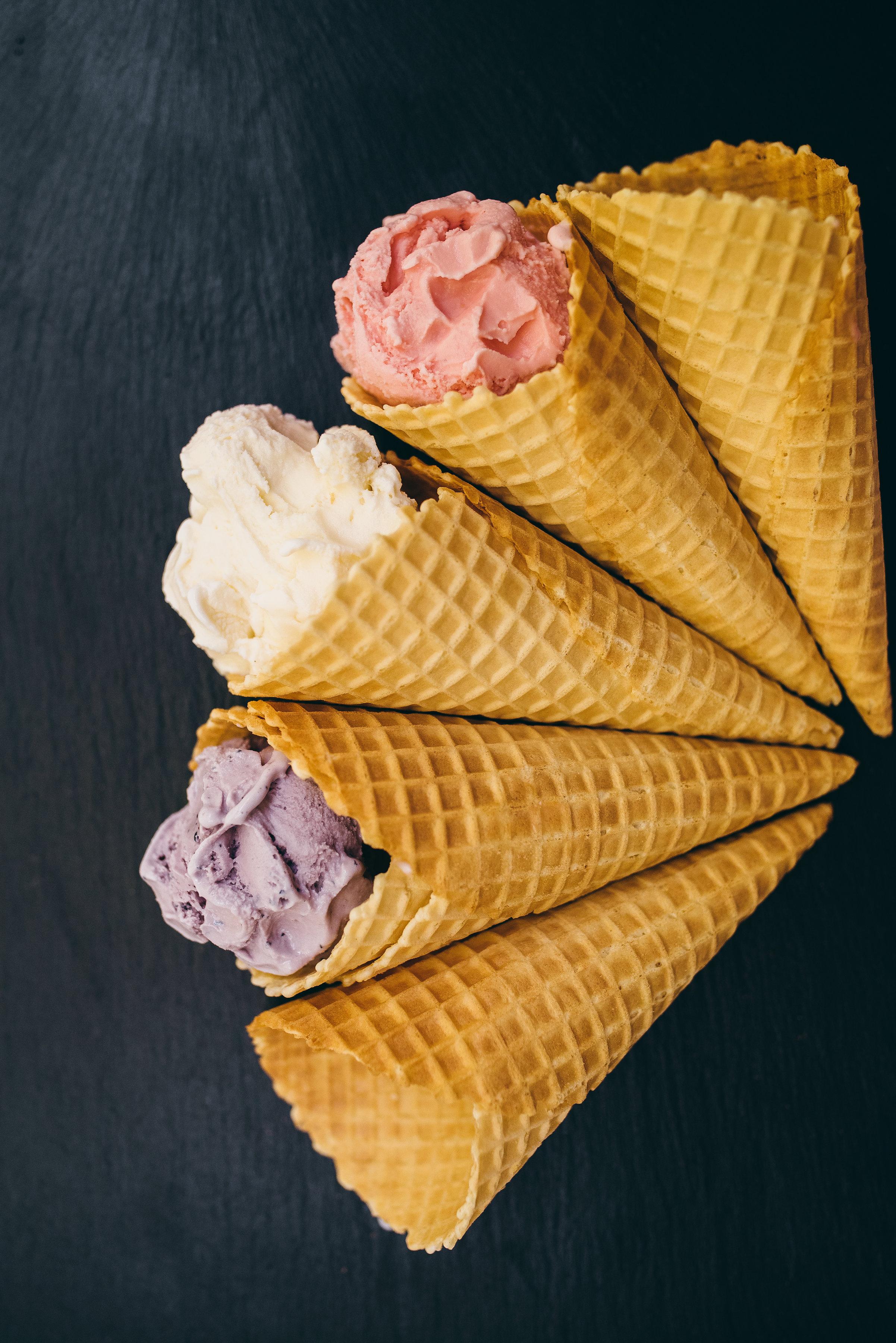 raleigh product photographer - raleigh ice cream photographer