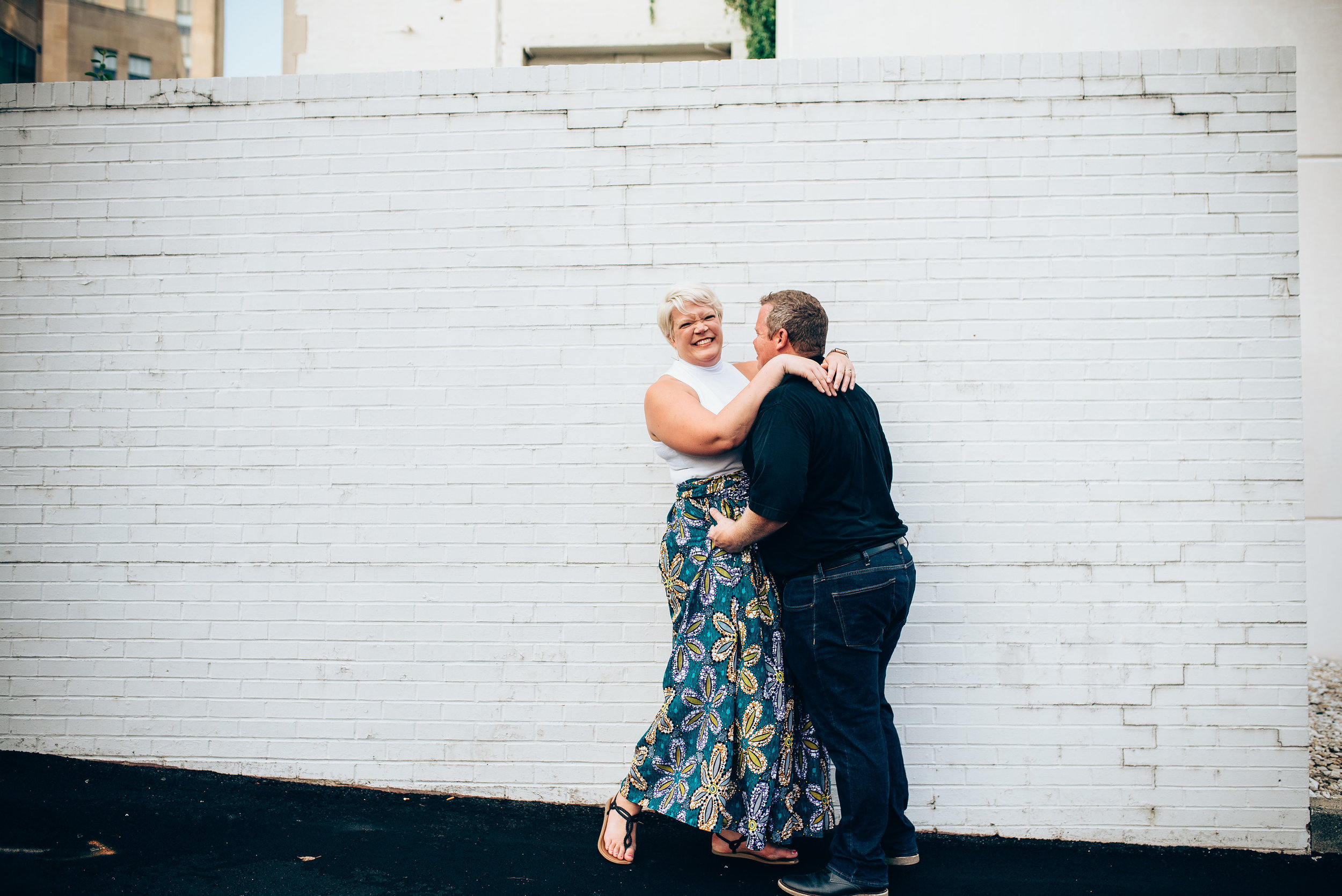 downtown durham engagement - durham wedding photographer - north carolina wedding photographer