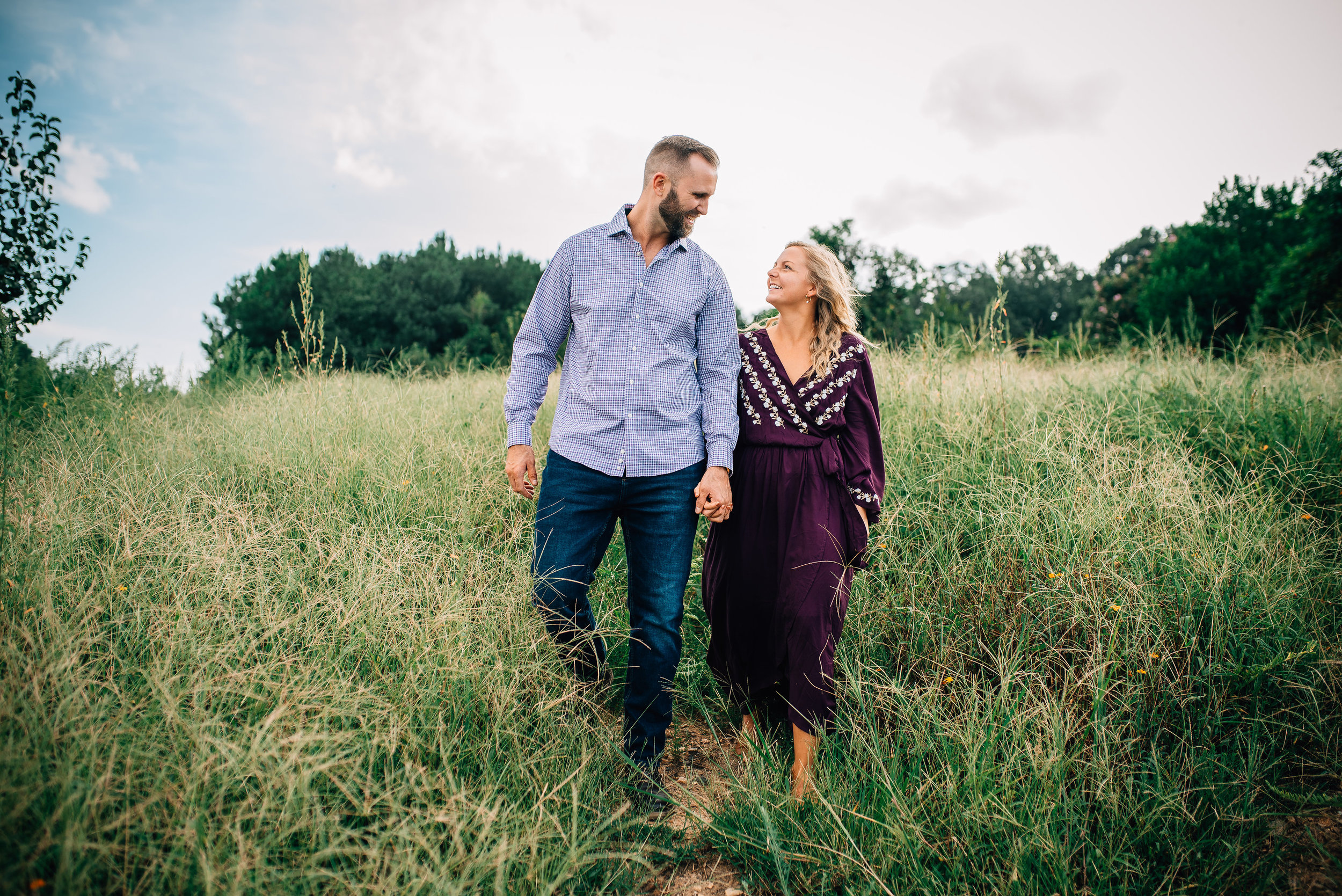 dorothea dix engagement - raleigh wedding photographer - north carolina wedding photographer
