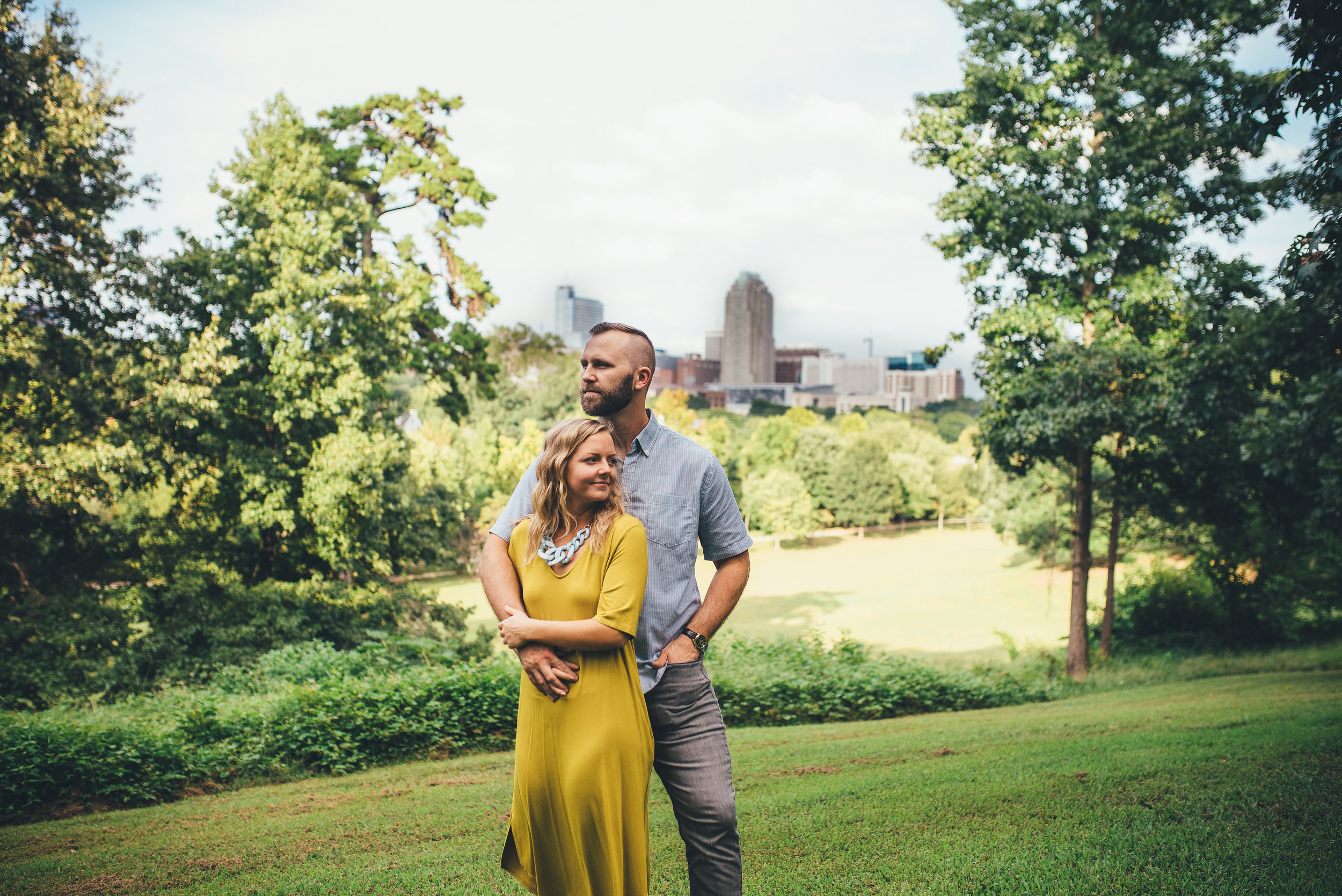 dorothea dix engagement session - raleigh wedding photographer - north carolina wedding photographer