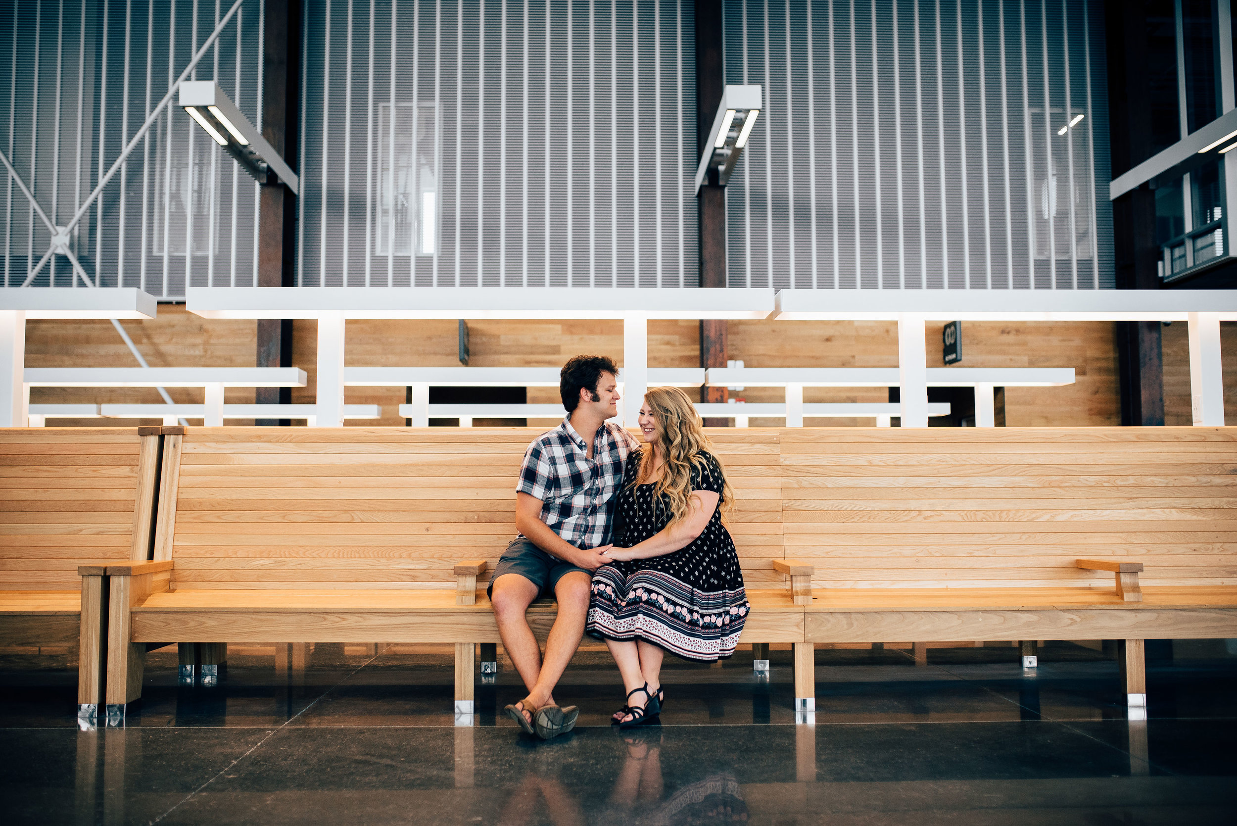 Raleigh Union Station - Raleigh Engagement Photographer - North Carolina Wedding Photographer