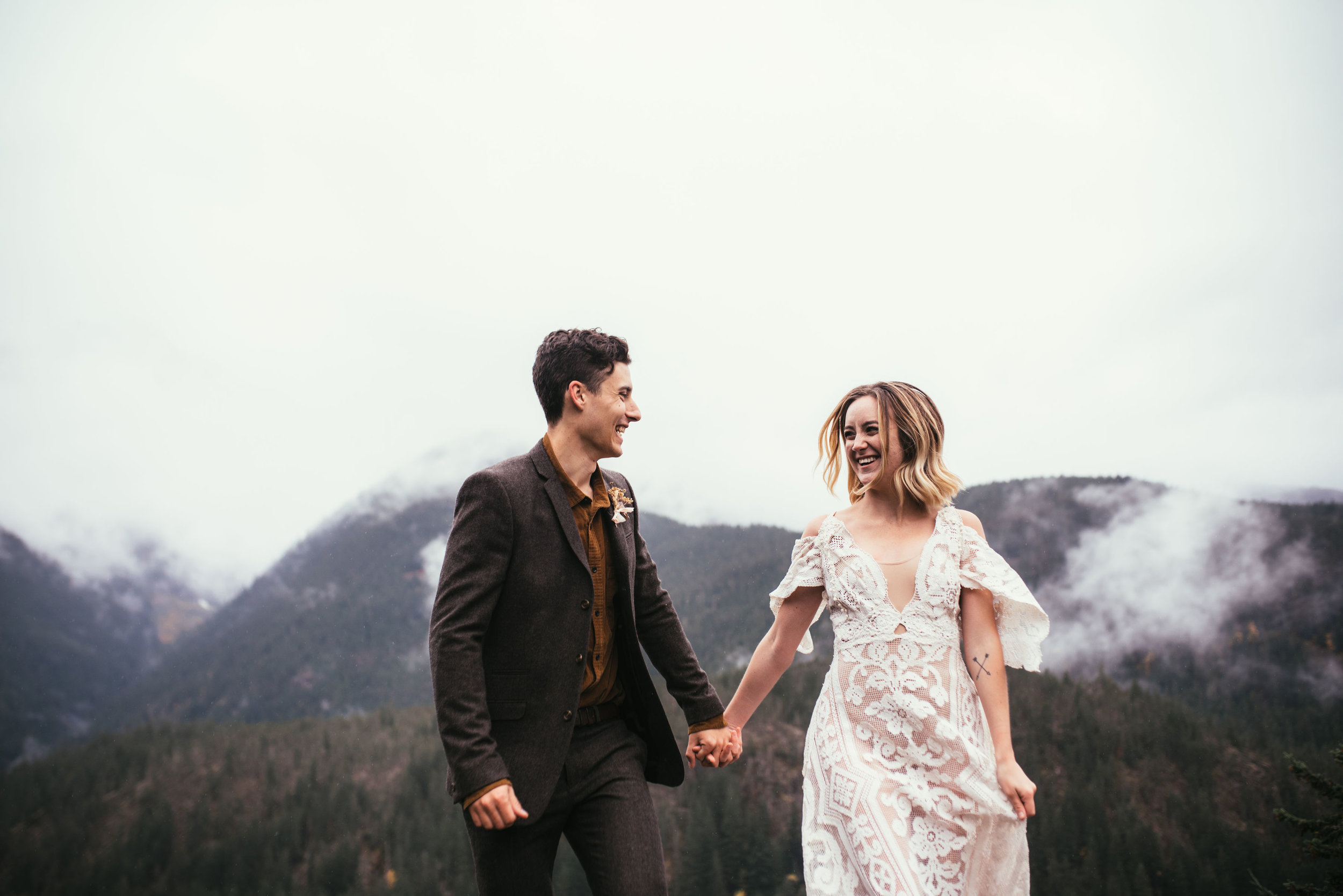 North Cascades Elopement - Pacific NorthWest Photographer - North Cascades Elopement - Washington Wedding Photographer