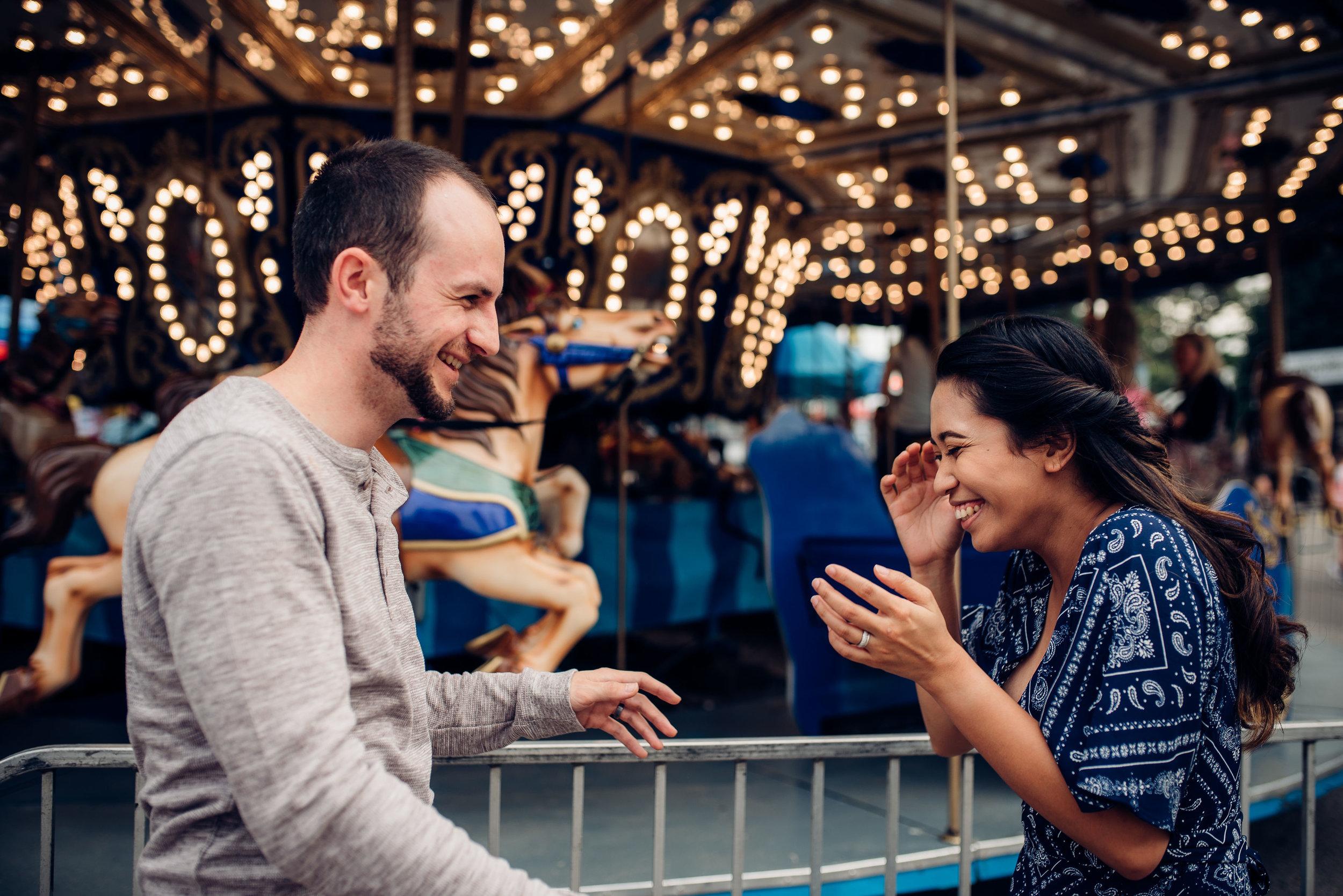 nc state fair engagement session - raleigh wedding photographer - north carolina wedding photographer
