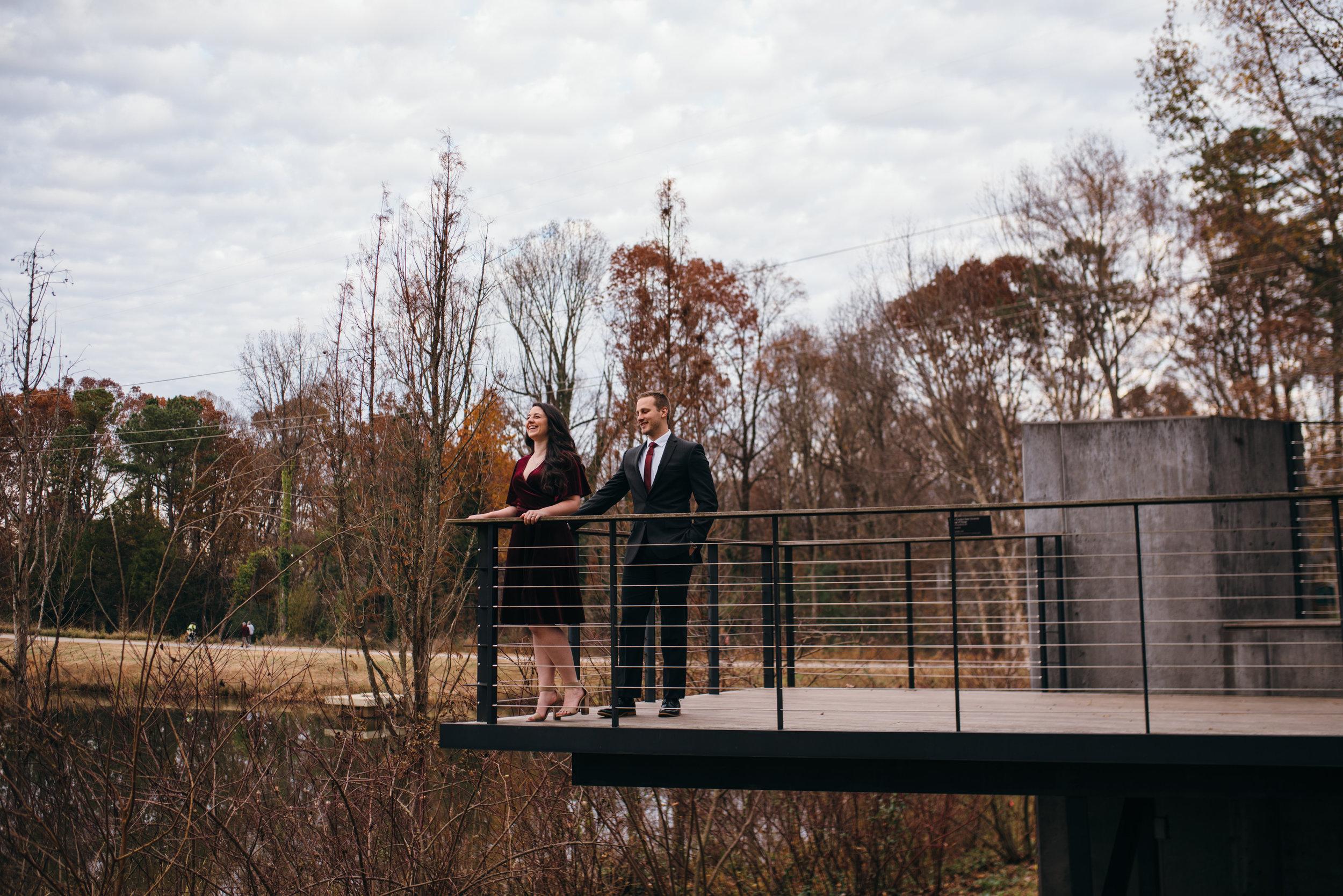 north carolina museum of art engagement - raleigh engagement photographer - north carolina wedding photographer