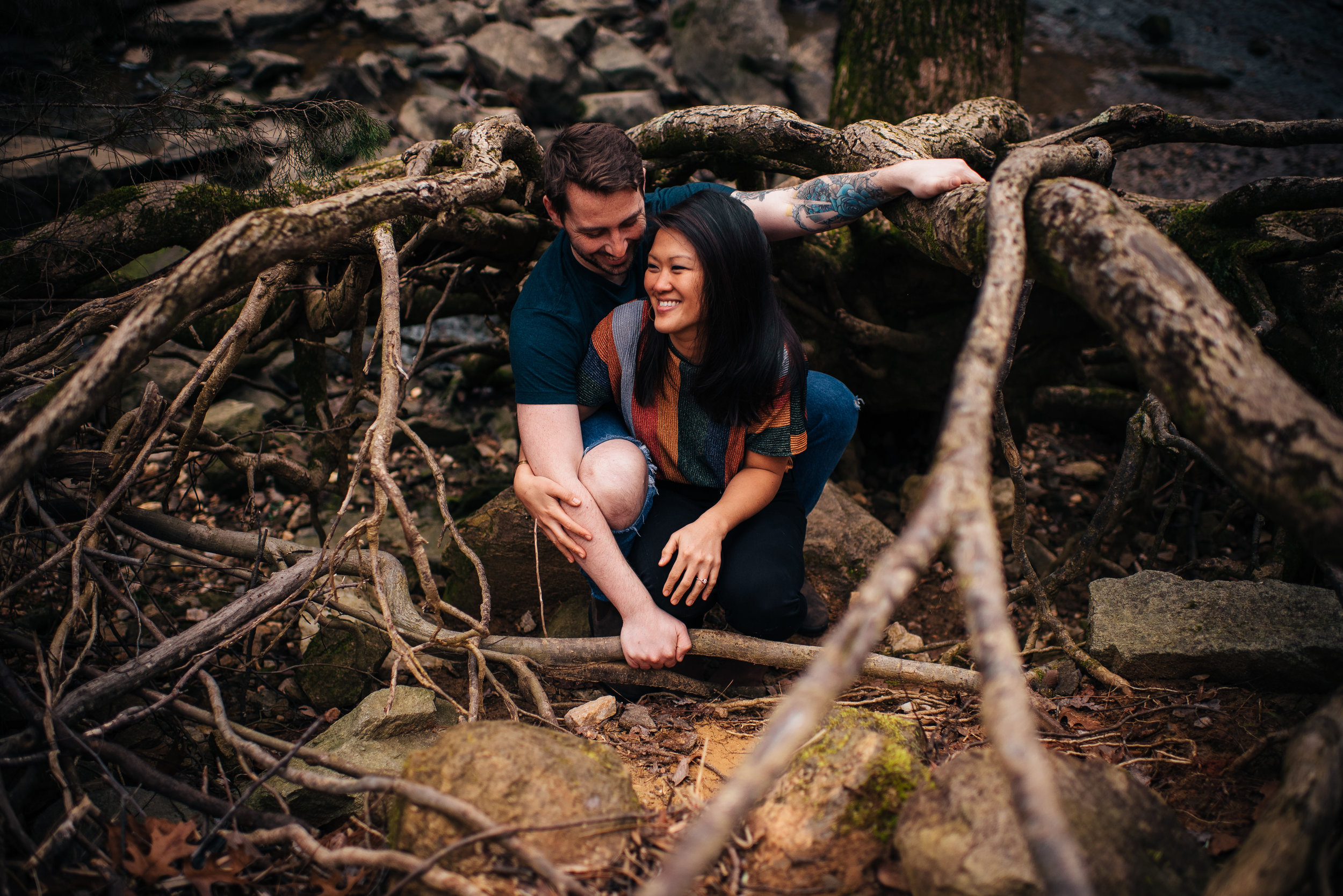 Raleigh Wedding Photographer - Umstead Park Engagement - North Carolina Wedding Photographer - Raleigh Engagement