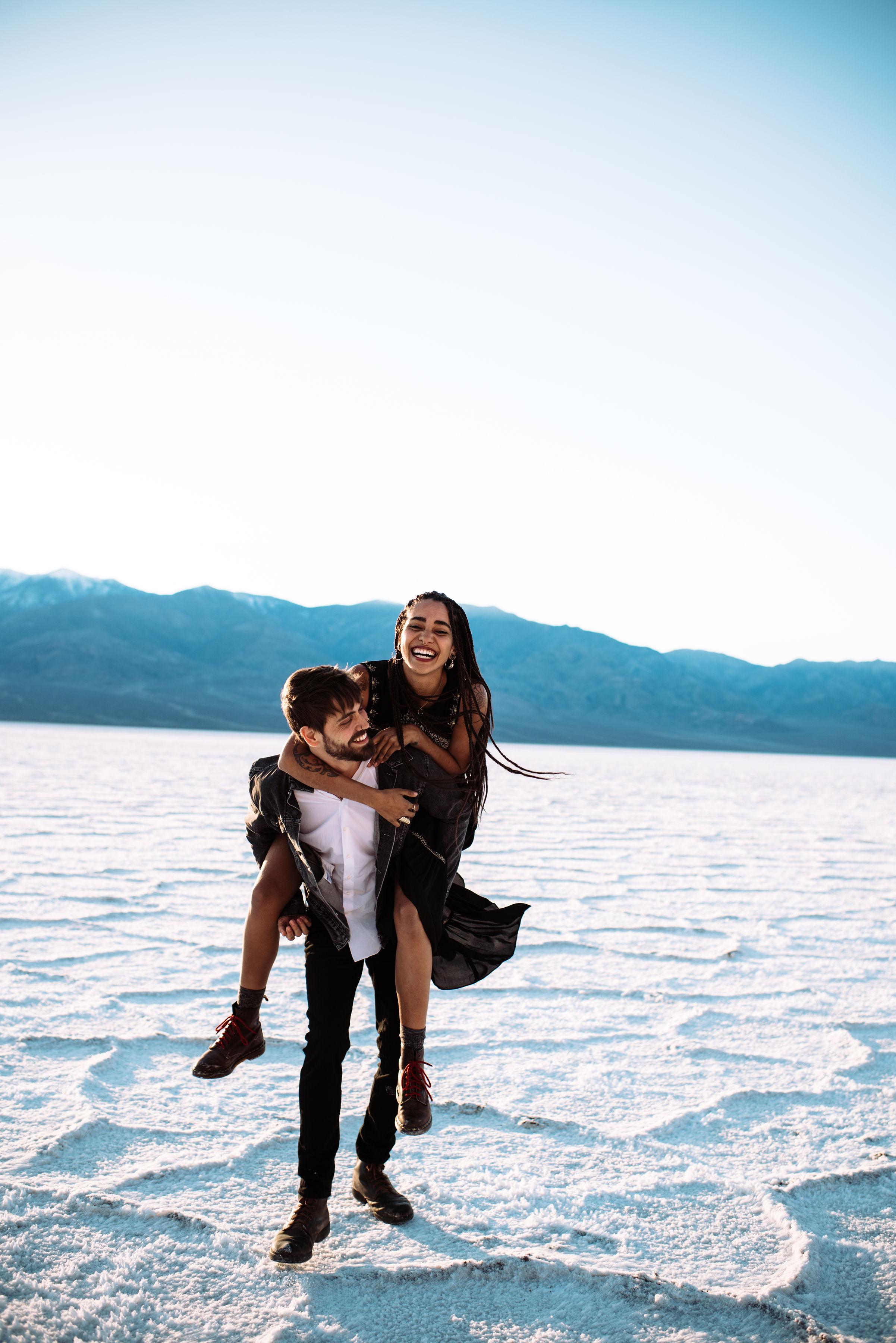badwater basin elopement - death valley wedding - california wedding photographer - destination wedding photographer - north carolina wedding photographer - three region photography