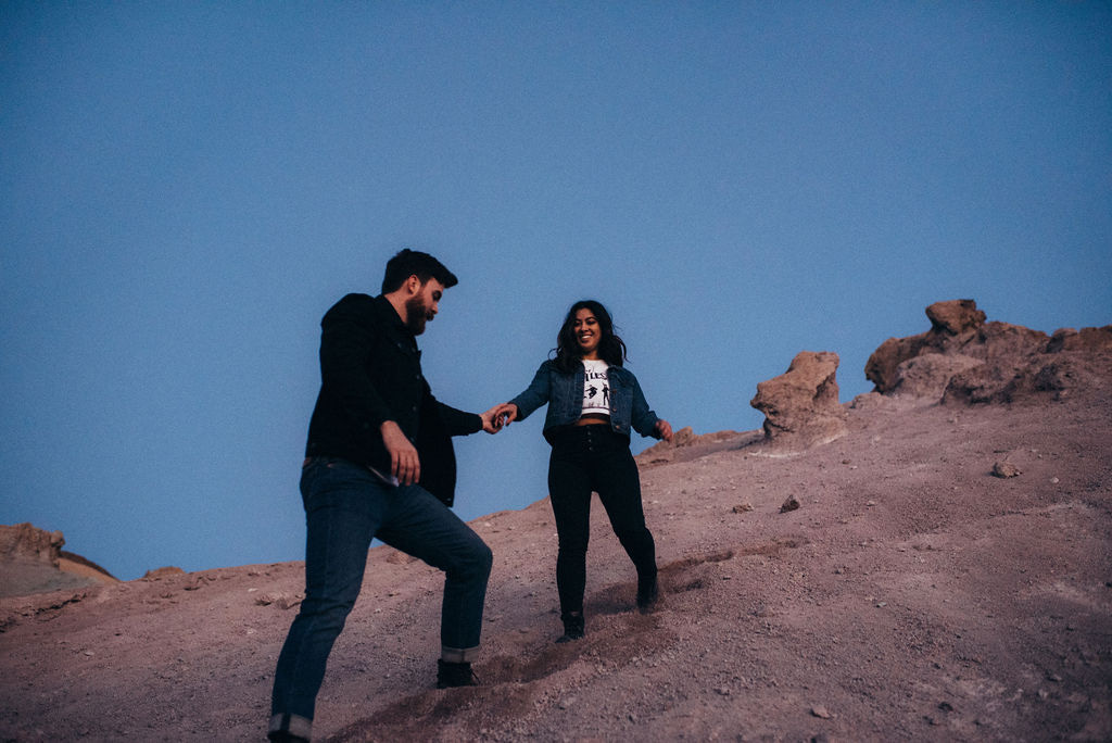 death valley engagement - california wedding photographer - las vegas wedding photographer