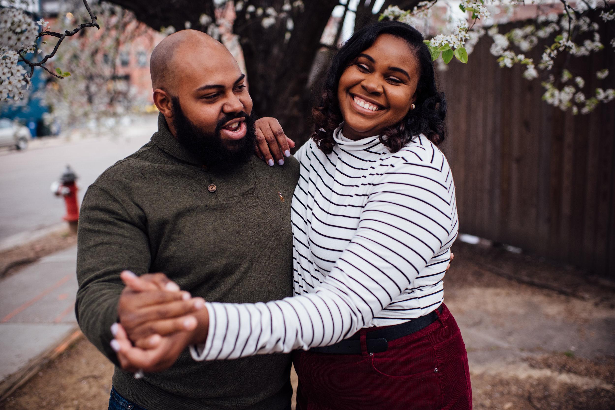 North Carolina Wedding Photographer - Raleigh Wedding Photographer - Downtown Raleigh Engagement - Raleigh Engagement - Durham Wedding Photographer - Boxcar Engagement