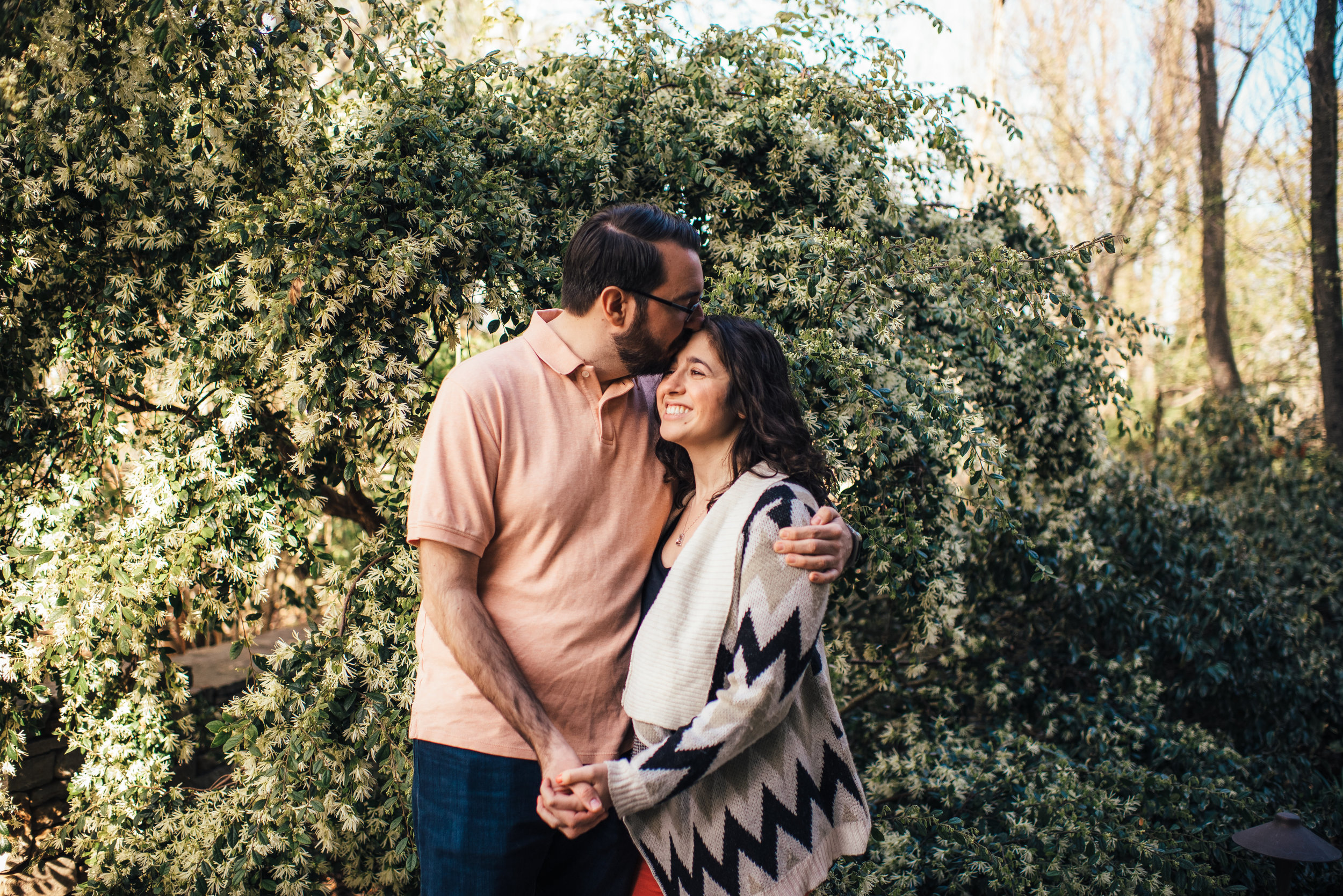 JC Raulston Engagement - Downtown Raleigh Engagement - Raleigh Wedding Photographer - North Carolina Wedding Photographer - Spring Engagement Session