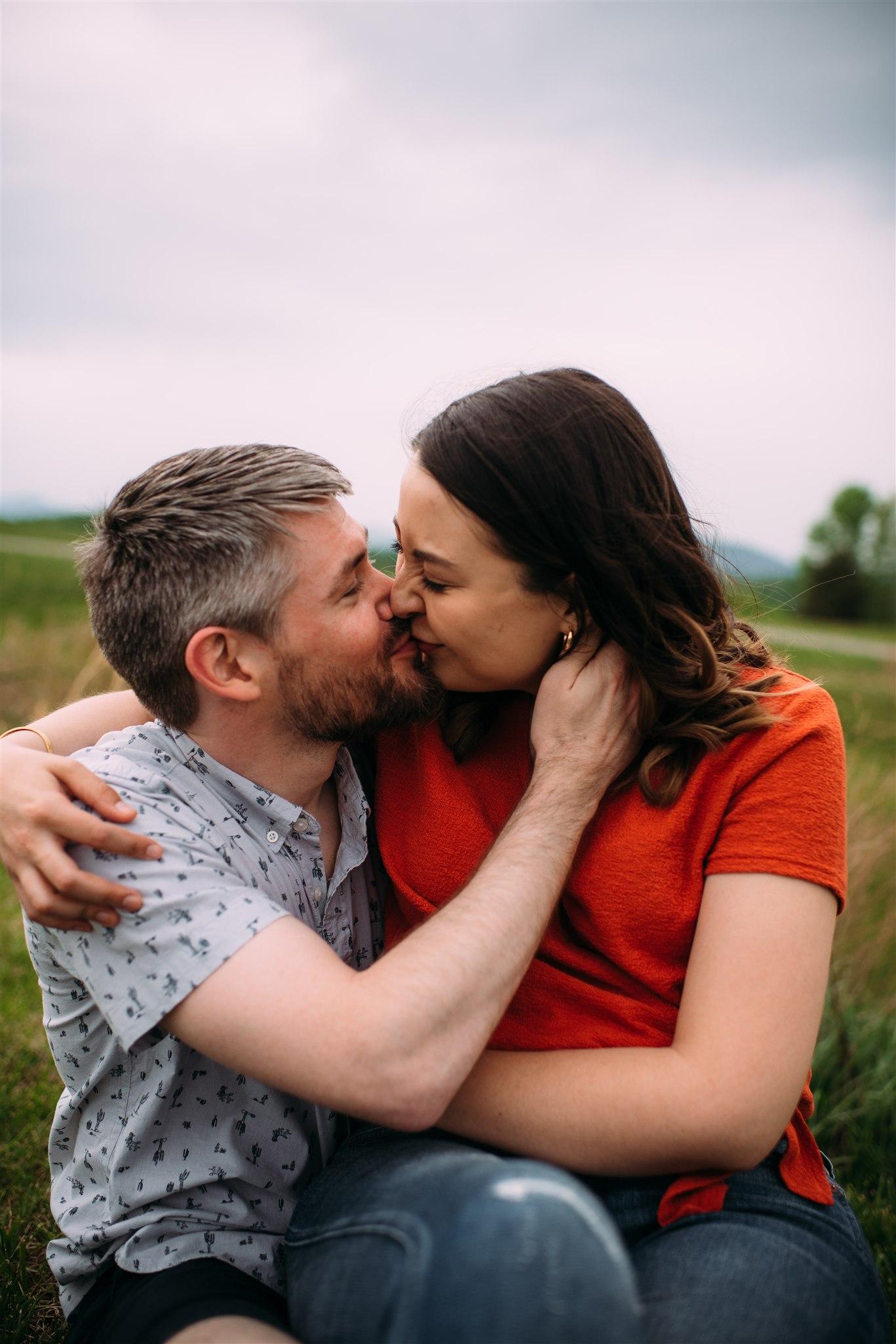 Roanoke Wedding Photographer - Roanoke Engagement - Blue Ridge Parkway Engagement - Virginia Wedding Photographer - Asheville Wedding Photographer