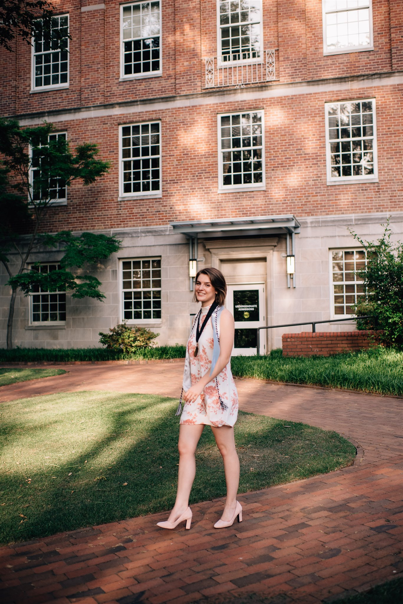 NC State Graduation Photographer - NC State Graduation Session - Raleigh Senior Photographer - North Carolina Senior Photographer