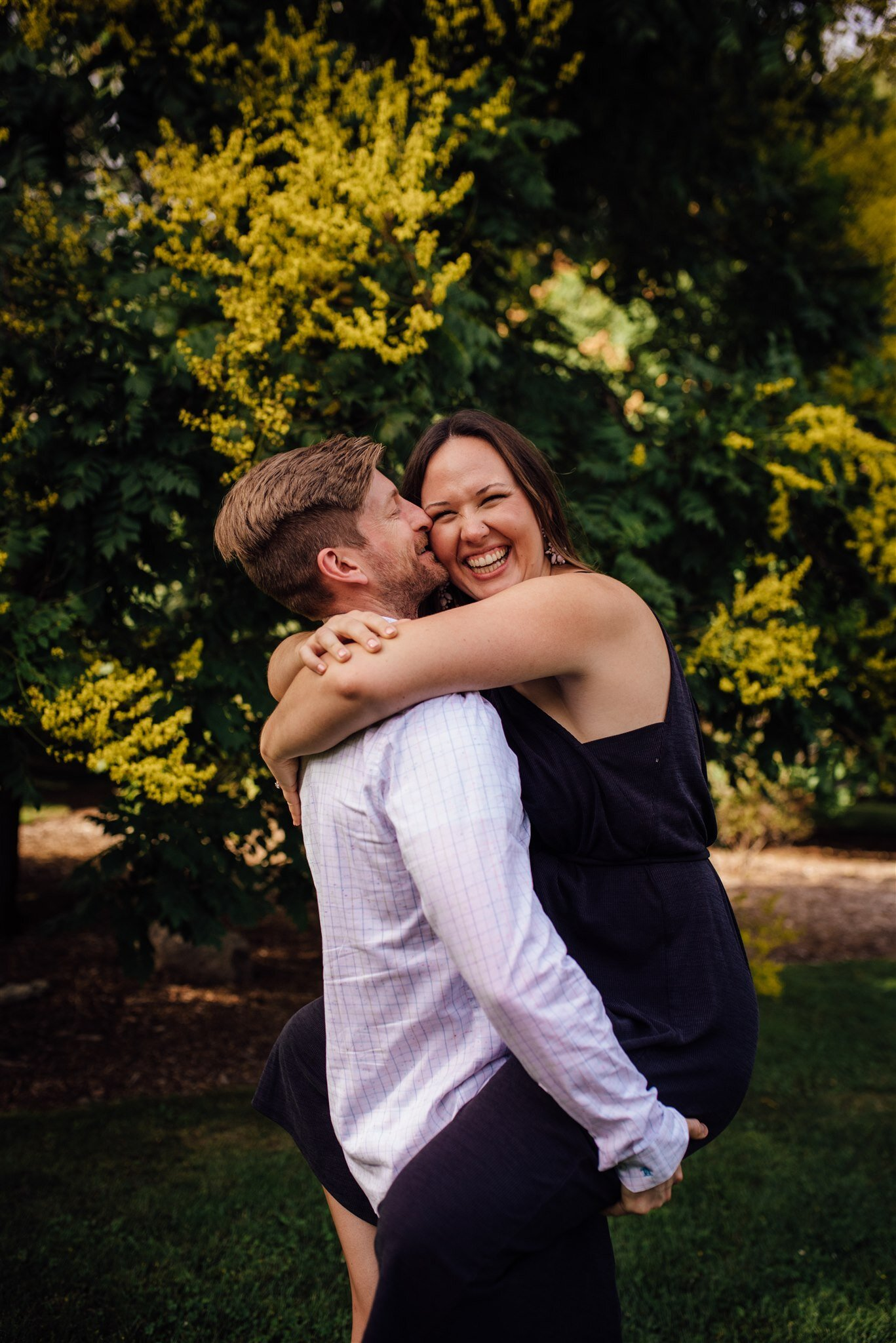 boston engagement session - new england wedding photographer - boston wedding photographer - arnold arboretum engagement
