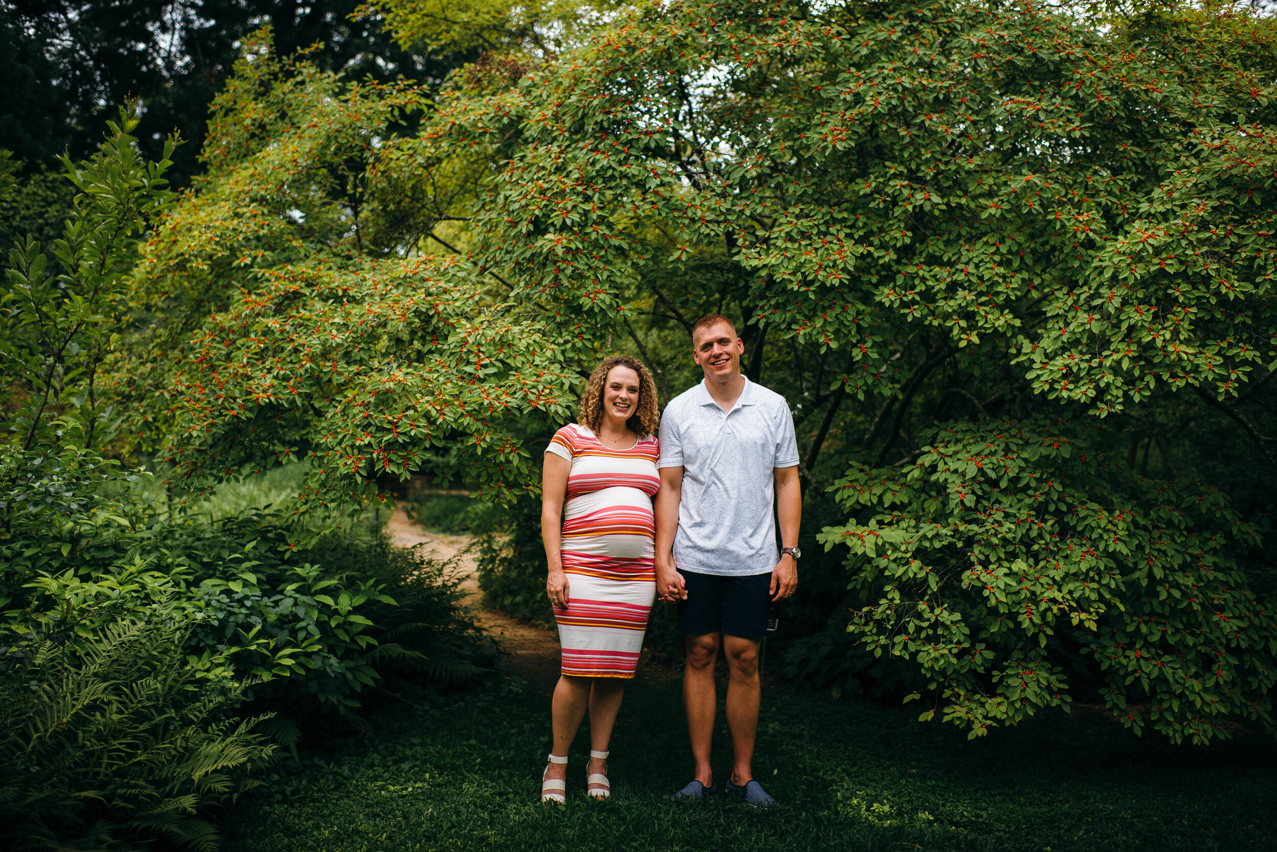 coker arboretum maternity photos - chapel hill maternity photos - north carolina maternity photographer -