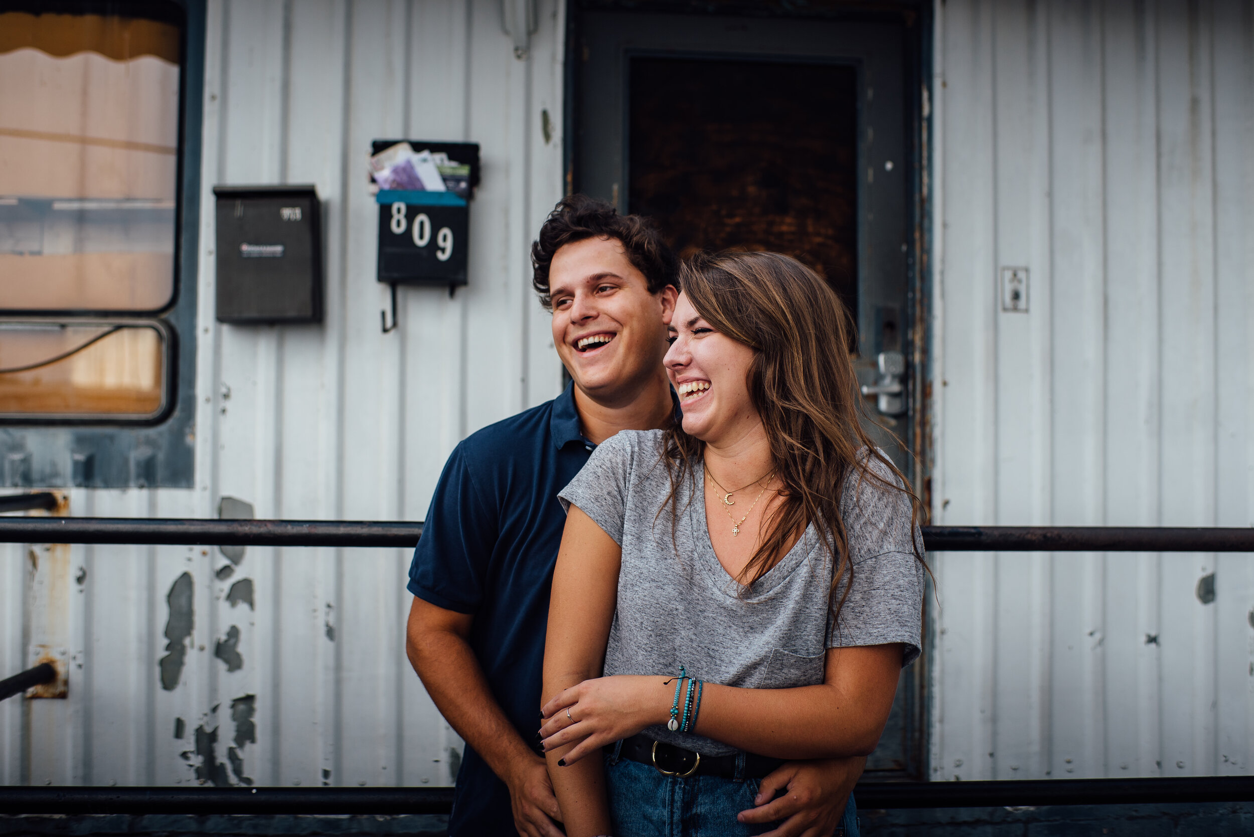 Downtown Raleigh Couple Session - Raleigh Engagement Photographer - Raleigh Wedding Photographer - North Carolina Wedding Photographer