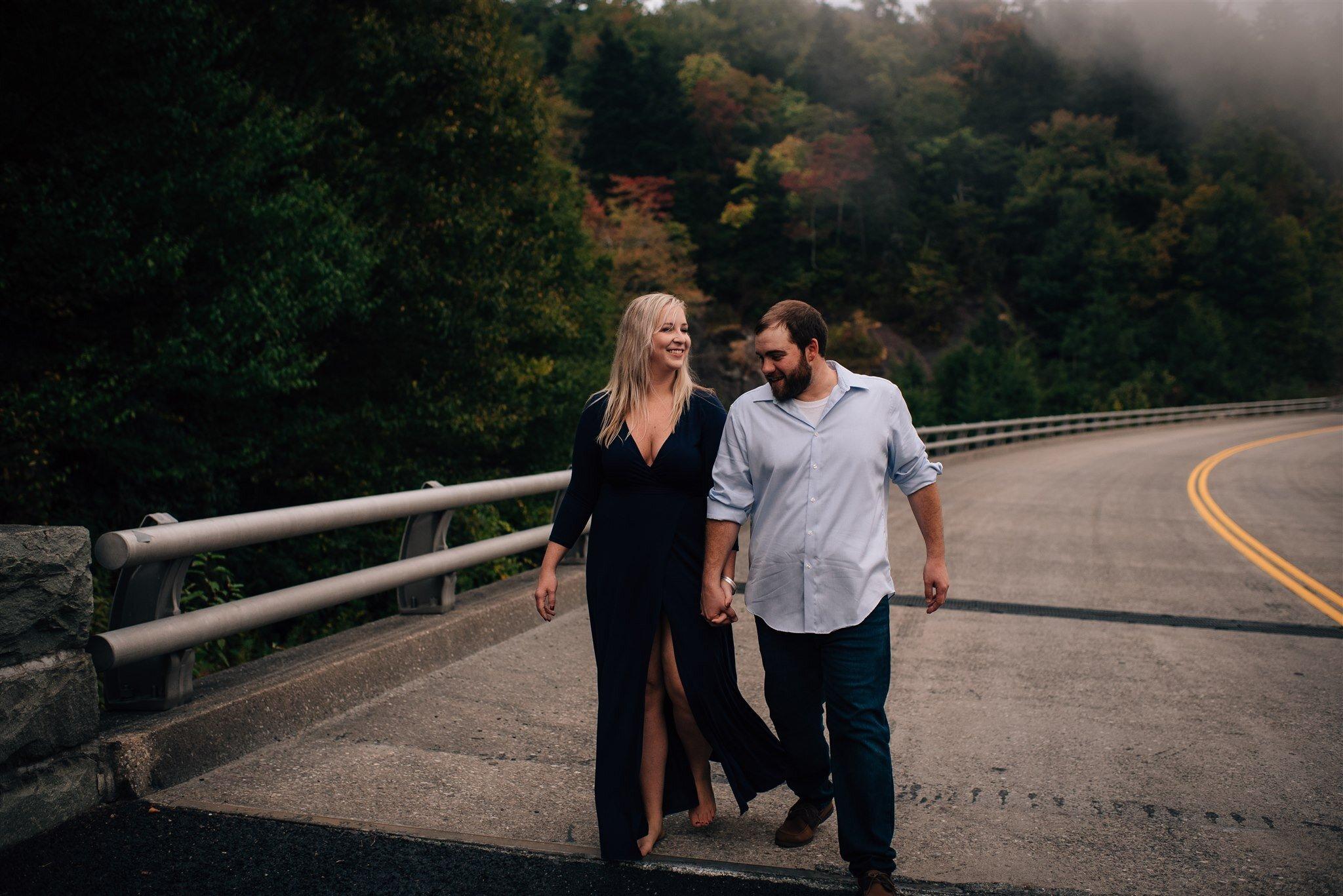 Boone Engagement Session -  Blue Ridge Parkway Engagement - Beacon Heights Engagement - Boone Wedding Photographer - North Carolina Wedding Photographer
