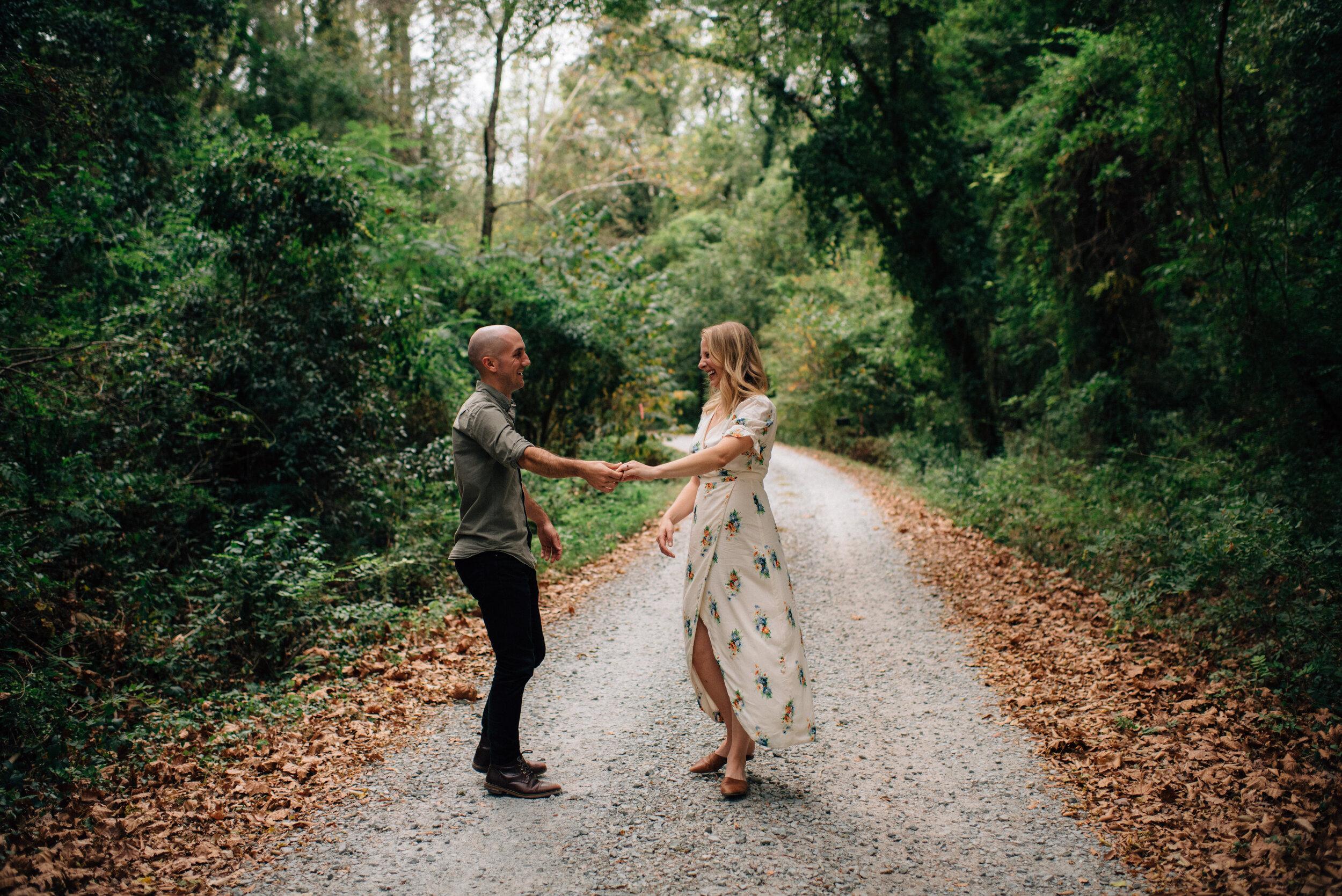 Durham In Home Engagement Session - Durham Wedding Photographer - Durham Engagement - North Carolina
