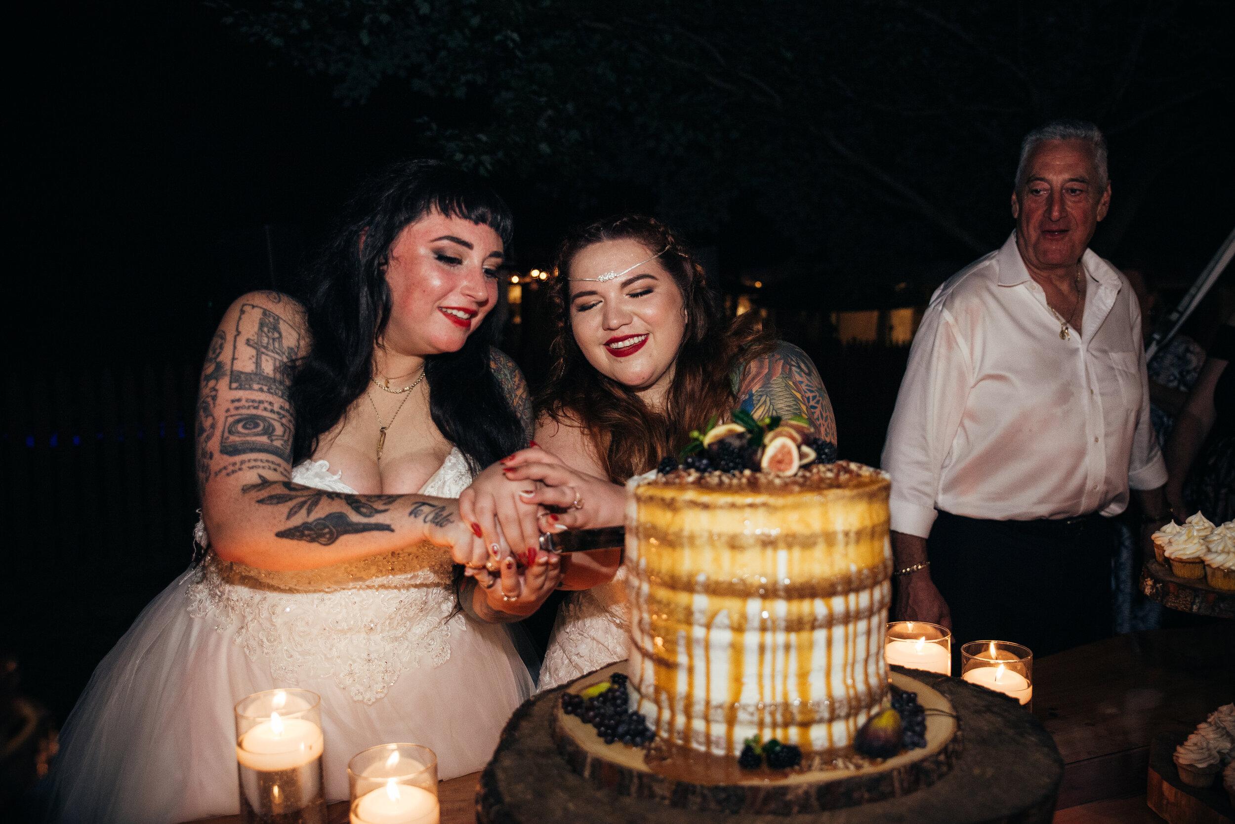 North Carolina LGBT Wedding - Raleigh LGBTQ Wedding Photographer - Apex Wedding Photographer - Durham LGBTQ Wedding Photographer