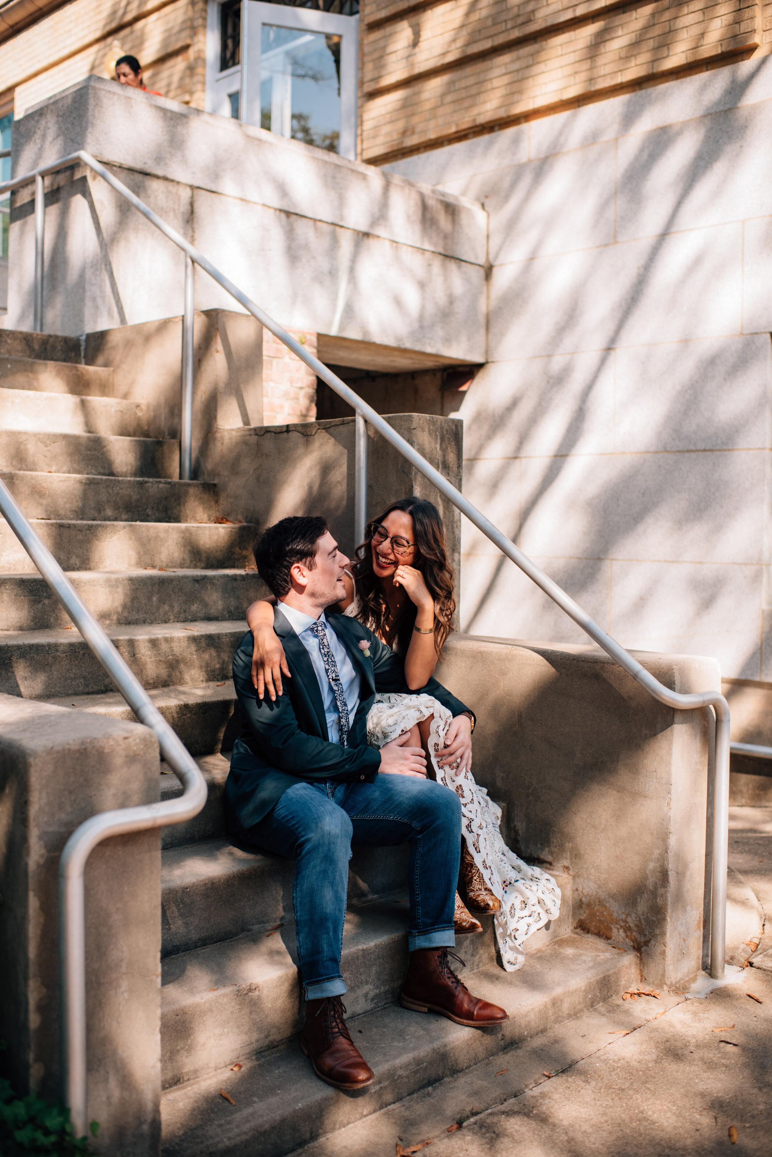 NC State Engagement - Raleigh Wedding Photographer - Raleigh Engagement - Durham Engagement - North Carolina Wedding Photographer