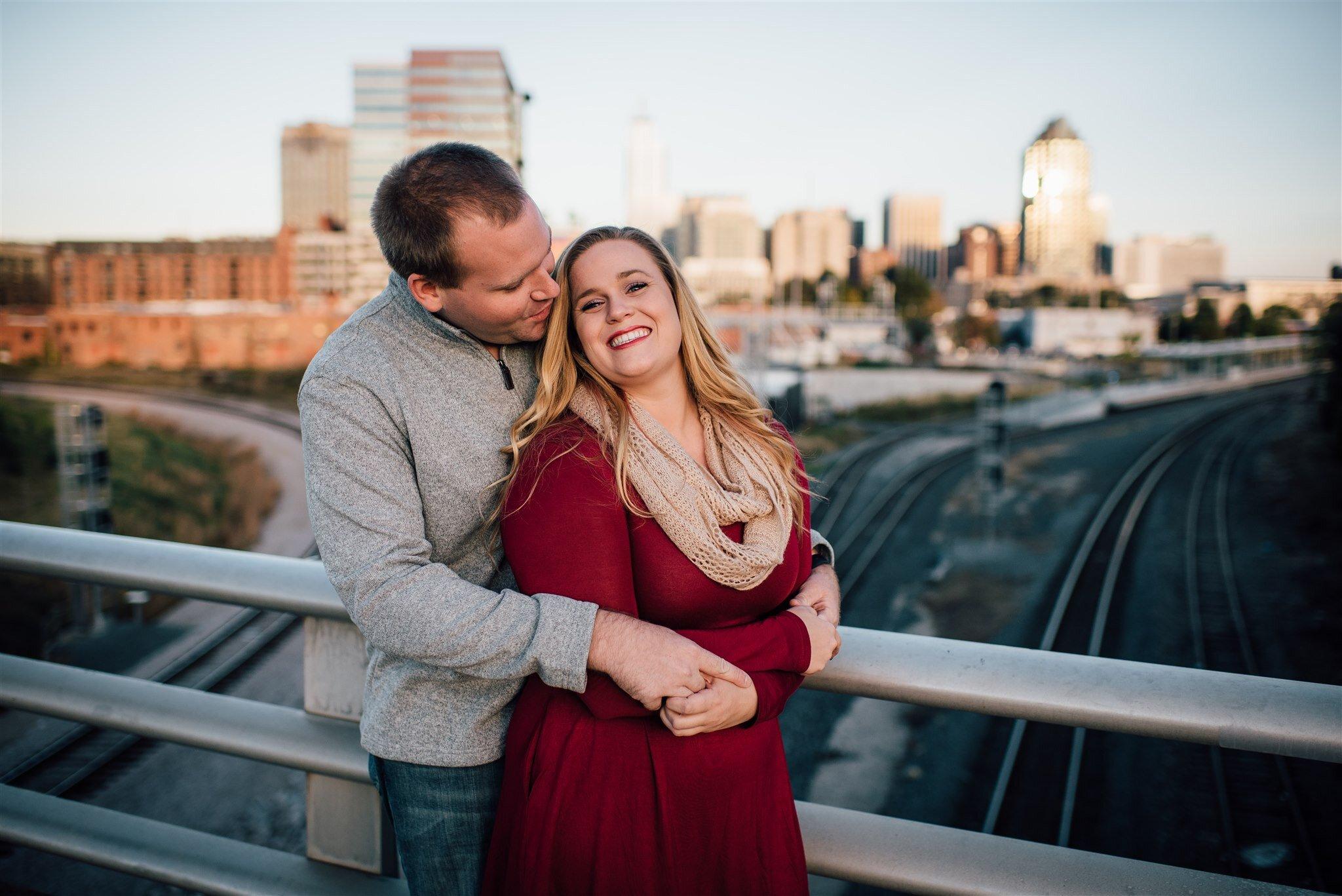 Boylan Bridge Proposal - Raleigh Engagement Photographer - North Carolina Wedding Photographer - Raleigh Surprise Proposal