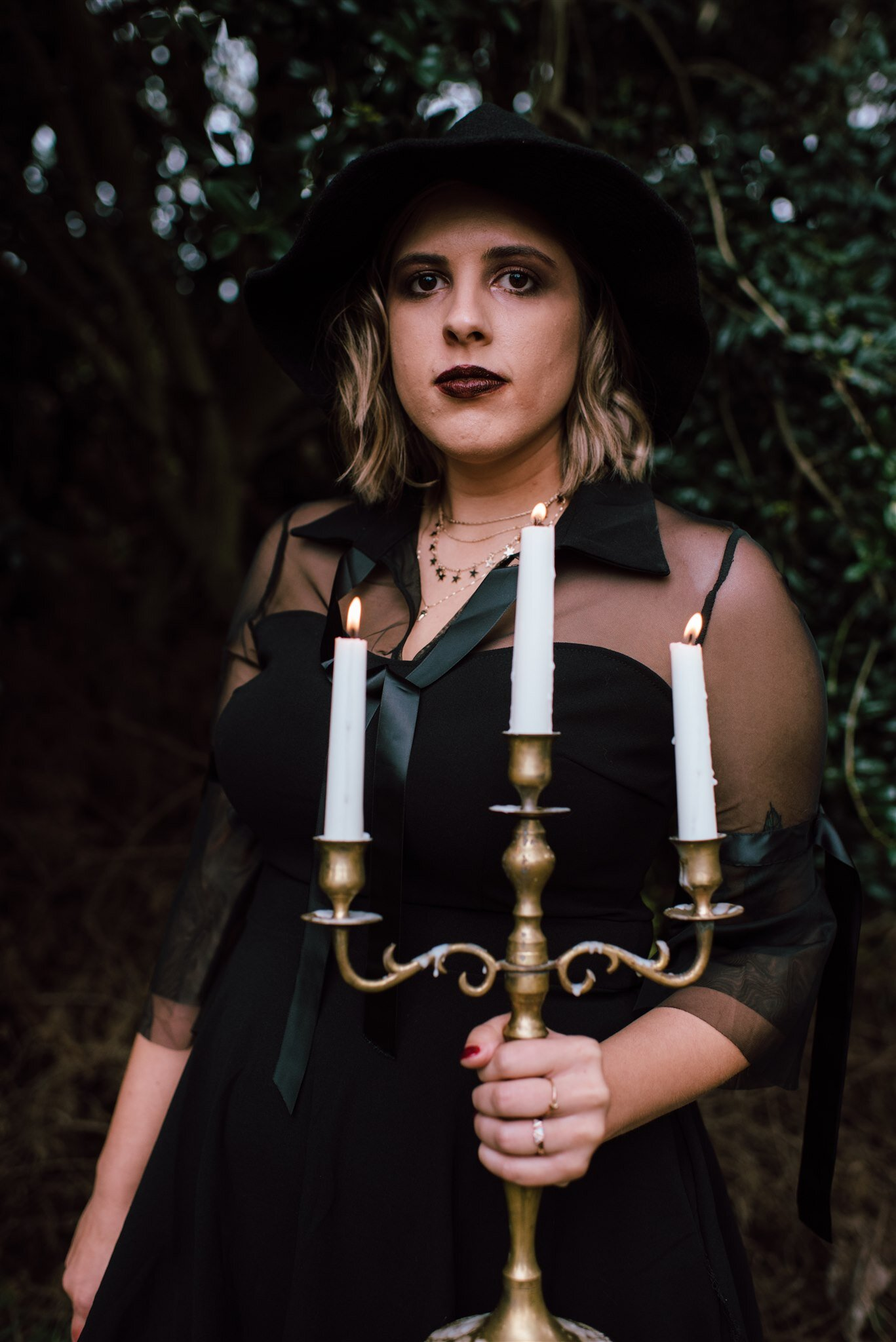 Halloween Editorial - Witch Aesthetic - Witch Editorial - Coven Photo Shoot - Halloween Photo Shoot - Halloween Inspired