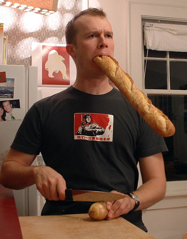 "I googled ""crying over bread"" to find this picture.  via  windowseat.ca"