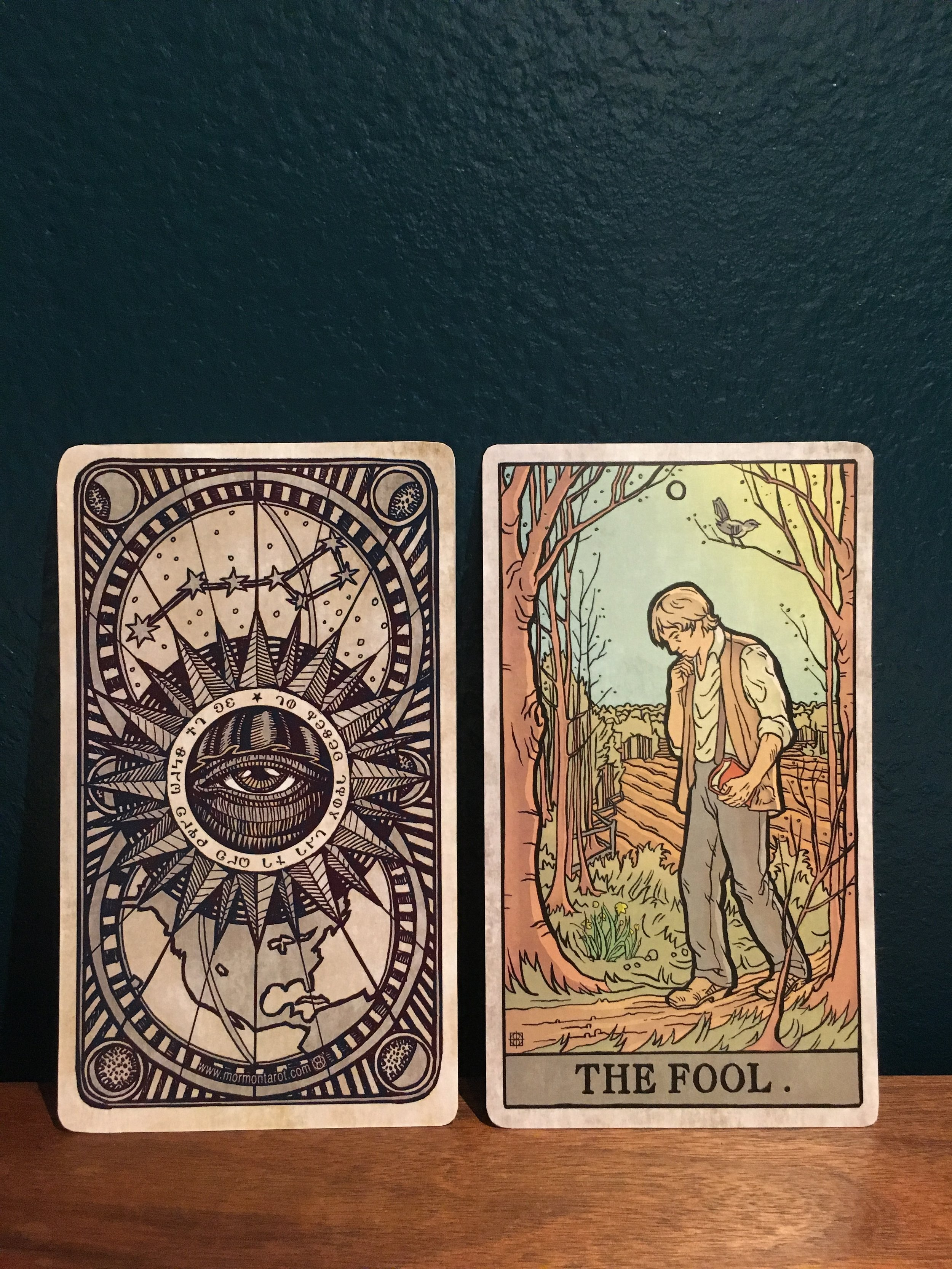 by The Mormon Tarot (mormontarot.com)
