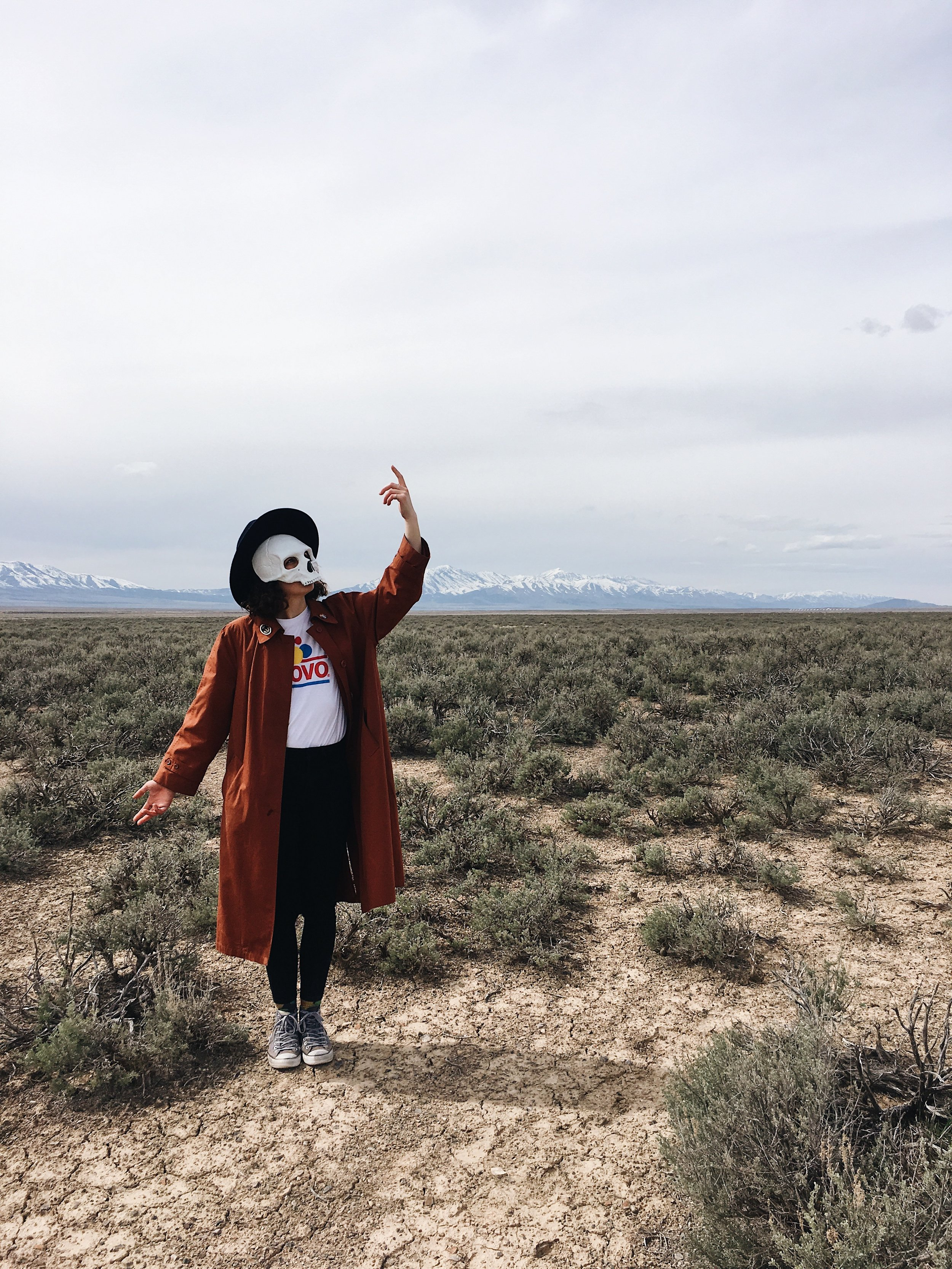 The Desert Prophet Somewhere in the Great Basin