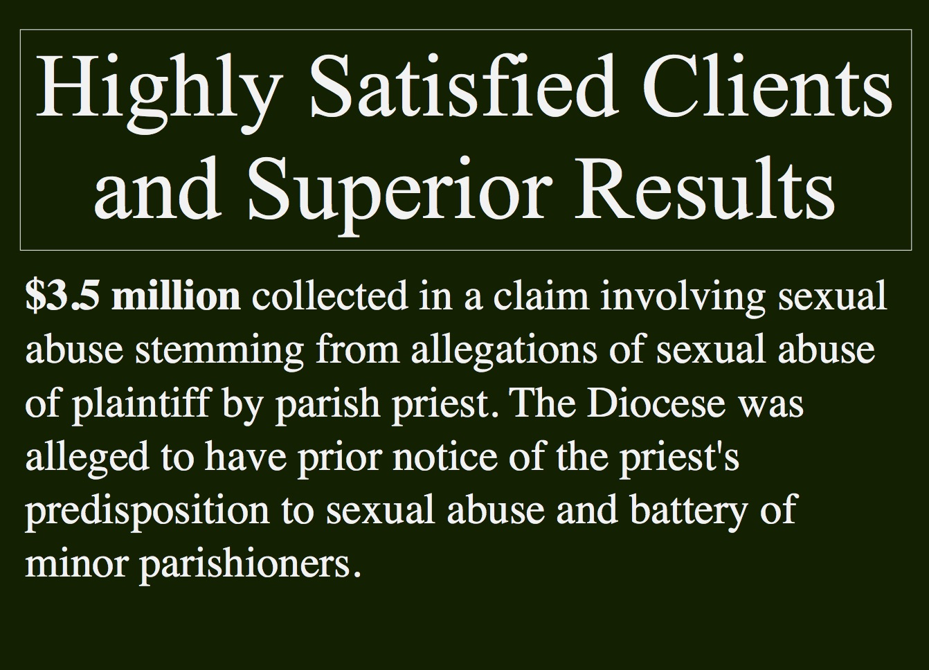 Personal Injury Settlement Priest Sexual Abuse.jpg
