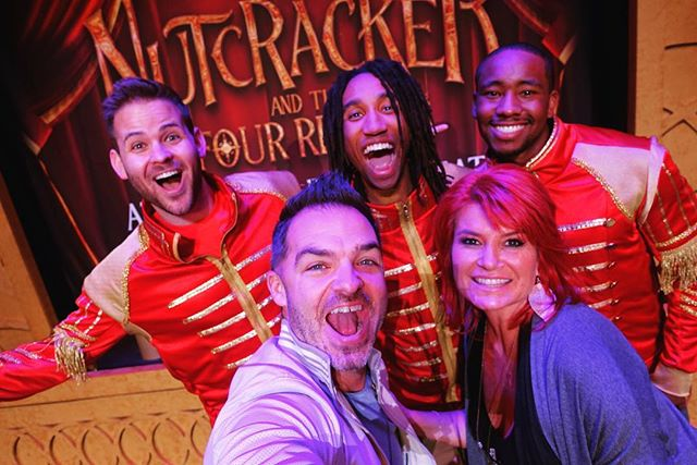 🍿 Opening night at The El Capitan Theatre for Disney's The Nutcracker and the Four Realms! 🍿  So grateful to be a part of this amazing show! Huge shout out to @locabonilla and @corylive for creating our amazing show before the movie! • 🎥 If you're in LA the next two weeks, come by for this awesome immersive experience! 🎥  #DisneysNutcracker #ElCapitanTheatre @elcapitanthtre @disneysnutcracker