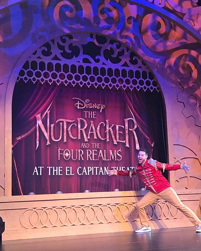Wow wow wow! Like all good things, my time as The Music Maestro for Disney's The Nutcracker and the Four Realms has come to an incredible end! It was a blast being a part of this show and film at The El Capitan Theatre! Huge shout out to @corylive and @locabonilla for writing and producing this awesome show and to my fellow Maestros, @randroidmusic and @keithalan_hinson for bringing the stage to life!