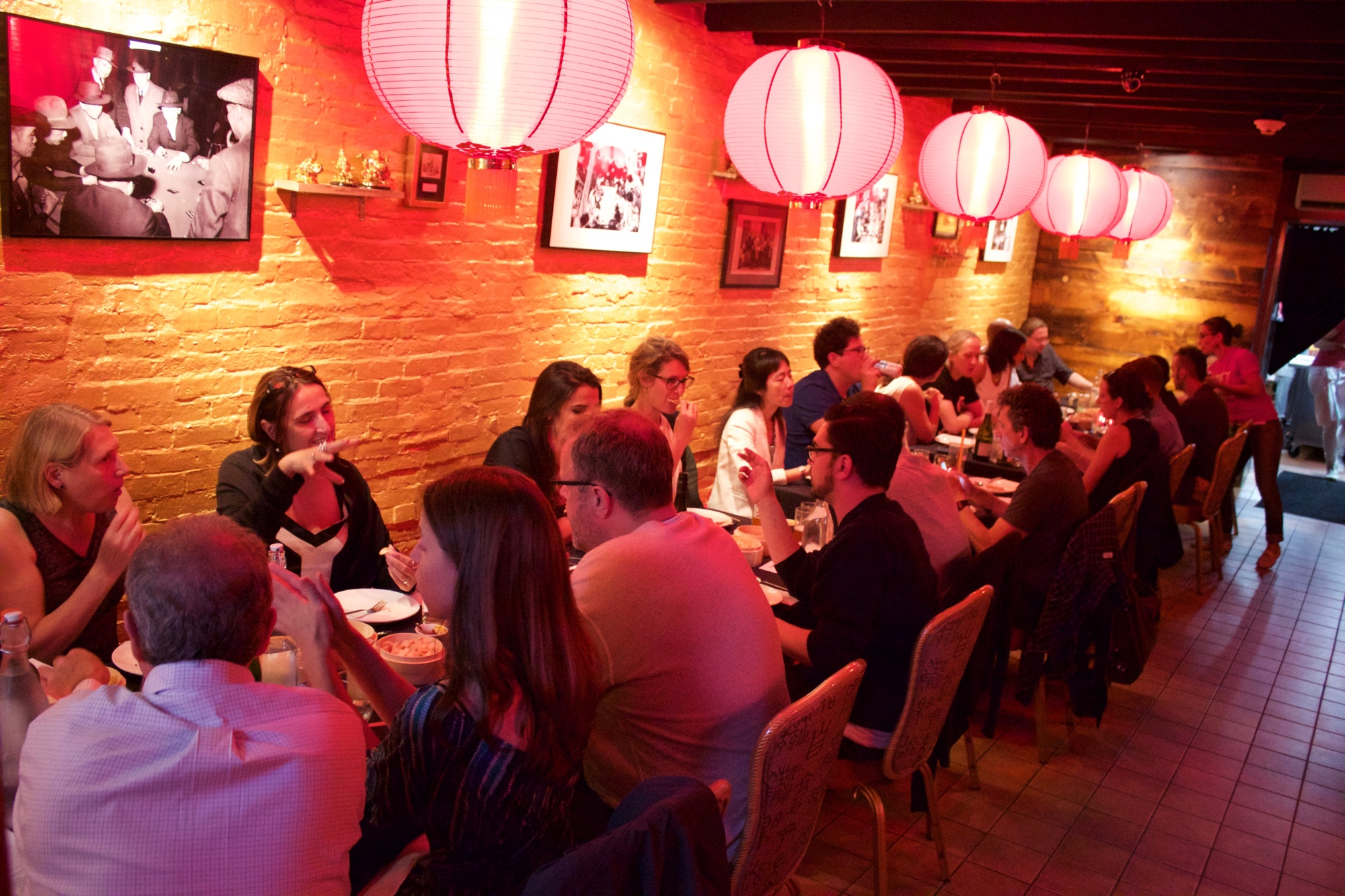 The scene at Kaki Lima's pop up at Best Little Restaurant in Chinatown on July 11.