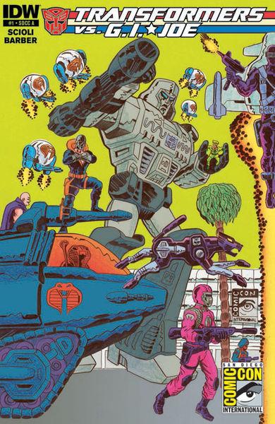 SDCC Cover A Art By: Tom Scioli