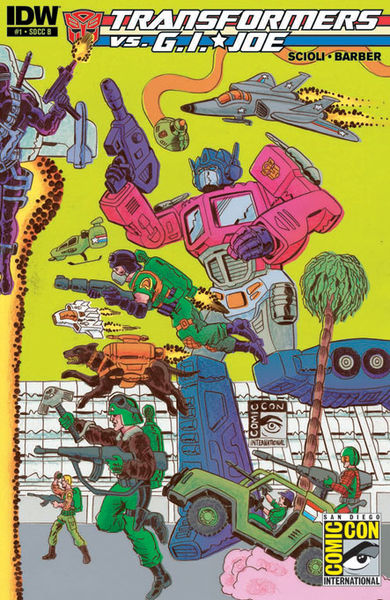SDCC Cover B Art By: Tom Scioli
