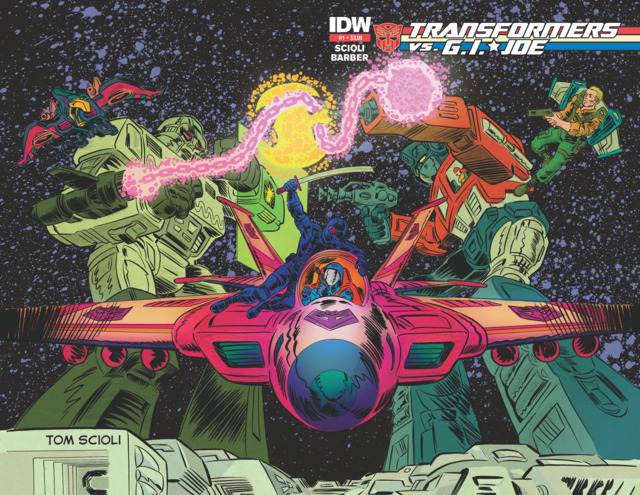 Second Printing Cover Art By: Tom Scioli