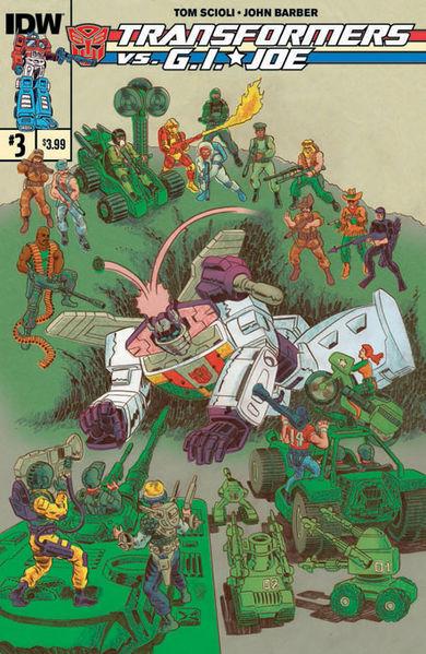 Cover A Art By: Tom Scioli