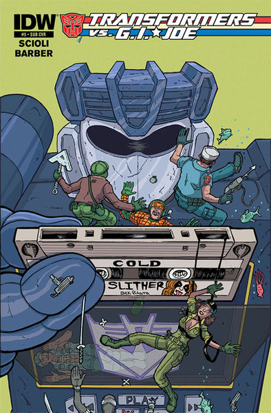Subscription Cover Art By: Nick Pitarra and Megan Wilson