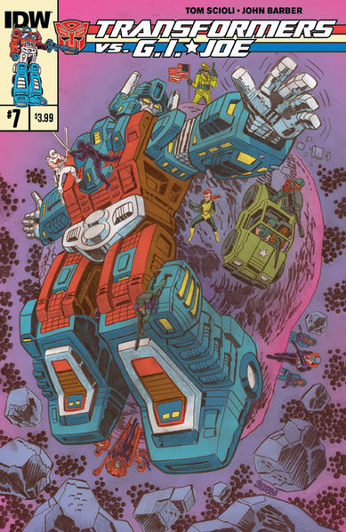 Cover A: Tom Scioli